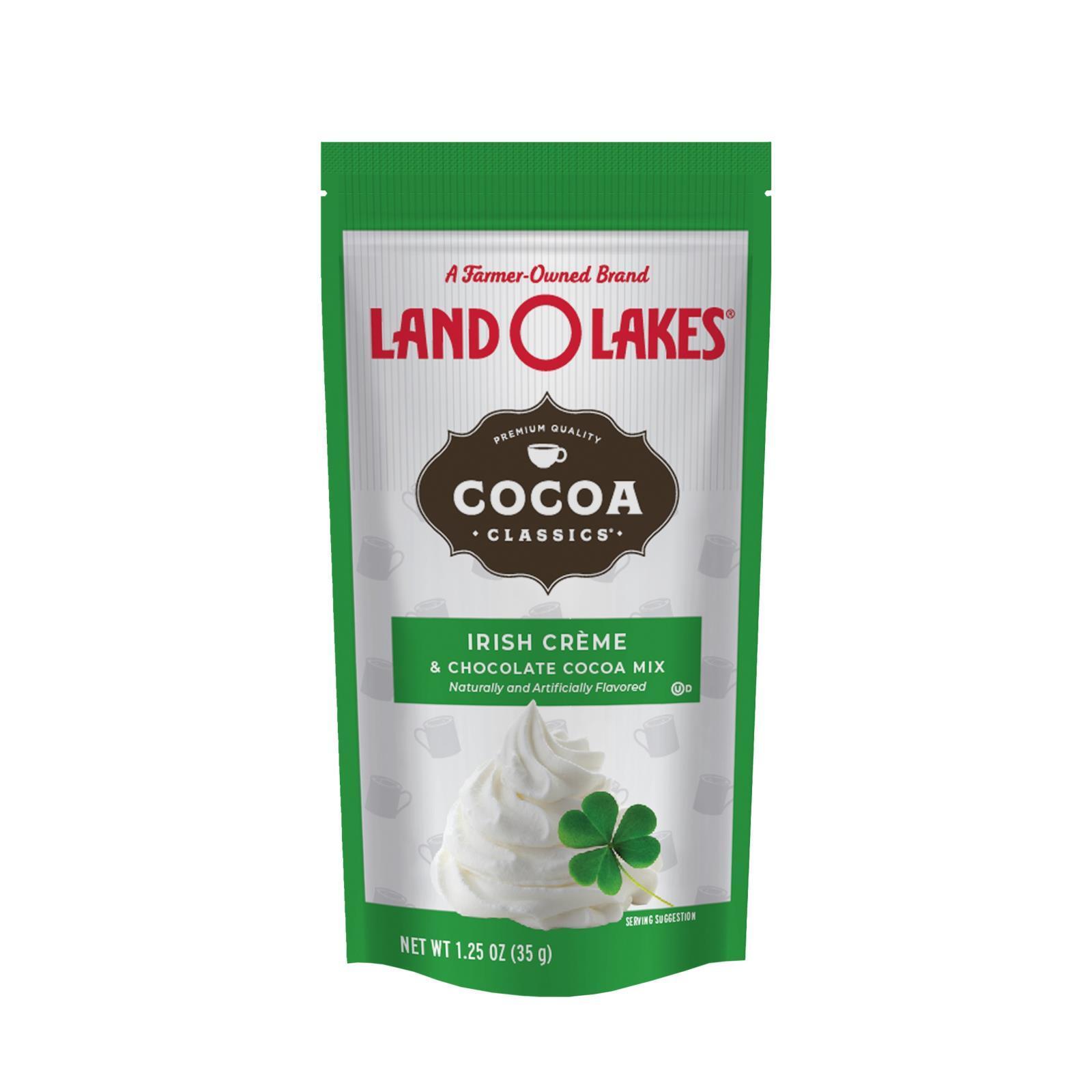 Land O Lakes Cocoa Classic Mix - Irish Creme and Chocolate - 1.25 oz - Case of 12