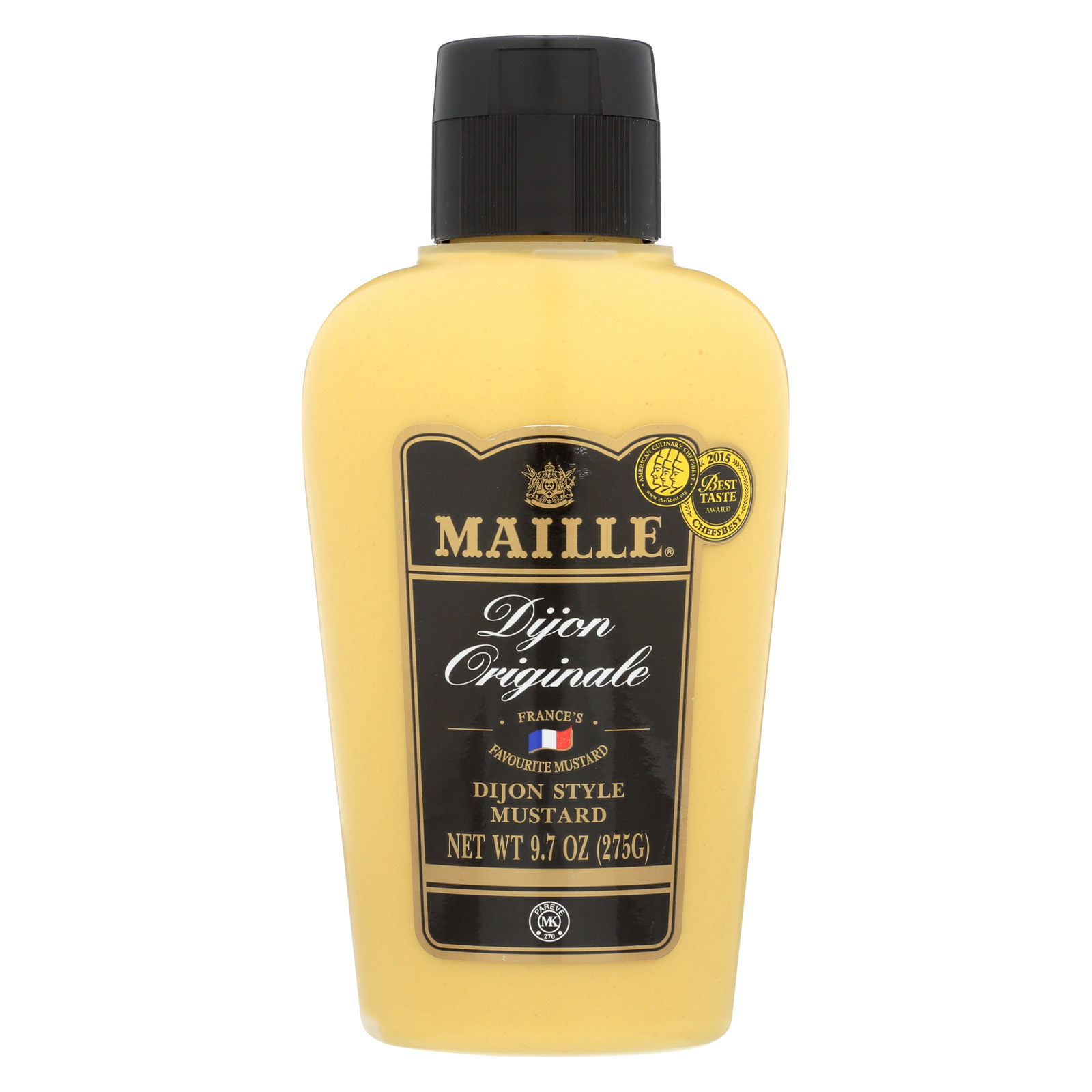 Maille Original Dijon Style Mustard - Case of 12 - 9.7 oz.