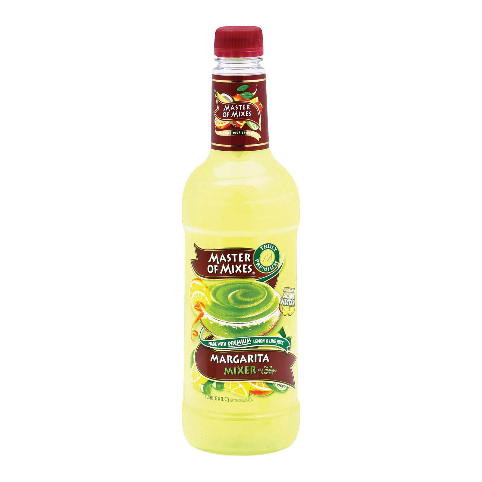 Master of Mixes Margarita Mixer - Case of 12 - 33.8 Fl oz.
