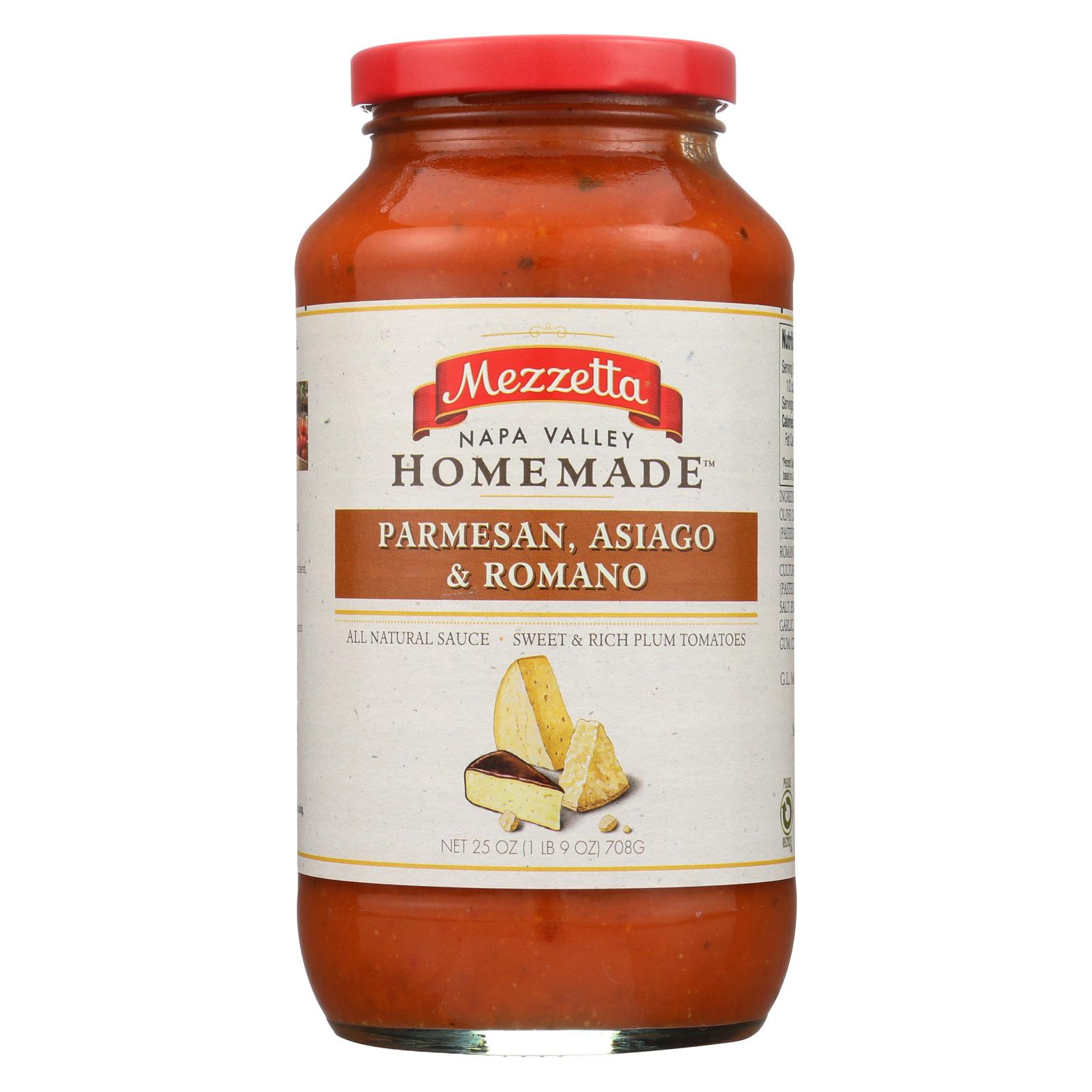 Mezzetta Pasta Sauce - Creamy Marinara - Case of 6 - 25 oz.