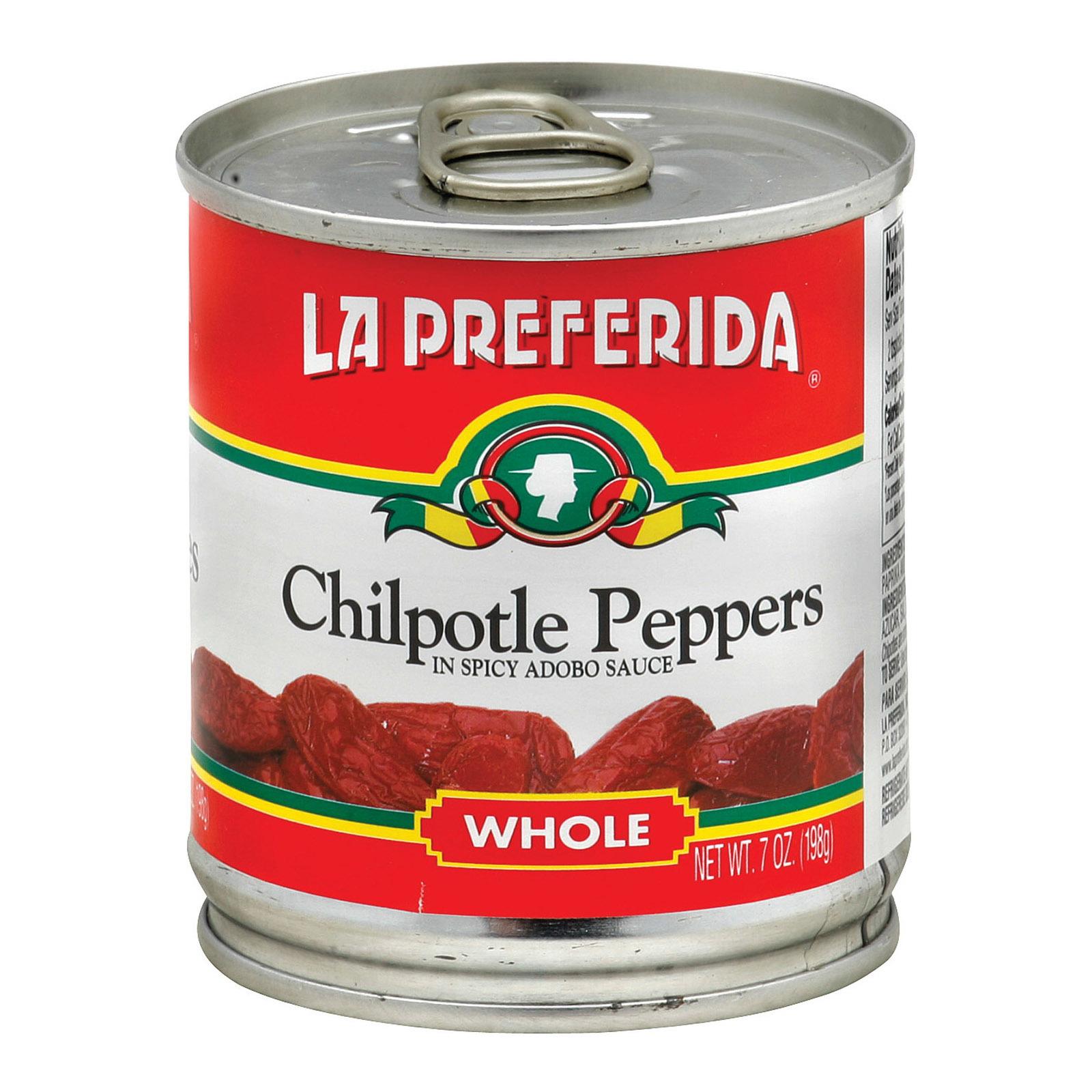 La Preferida Pepper - Chipotle - Case of 24 - 7 oz