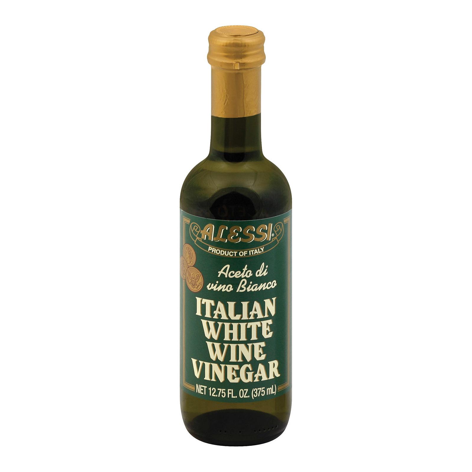 Alessi Vinegar - White Wine - Case of 6 - 12.75 oz.