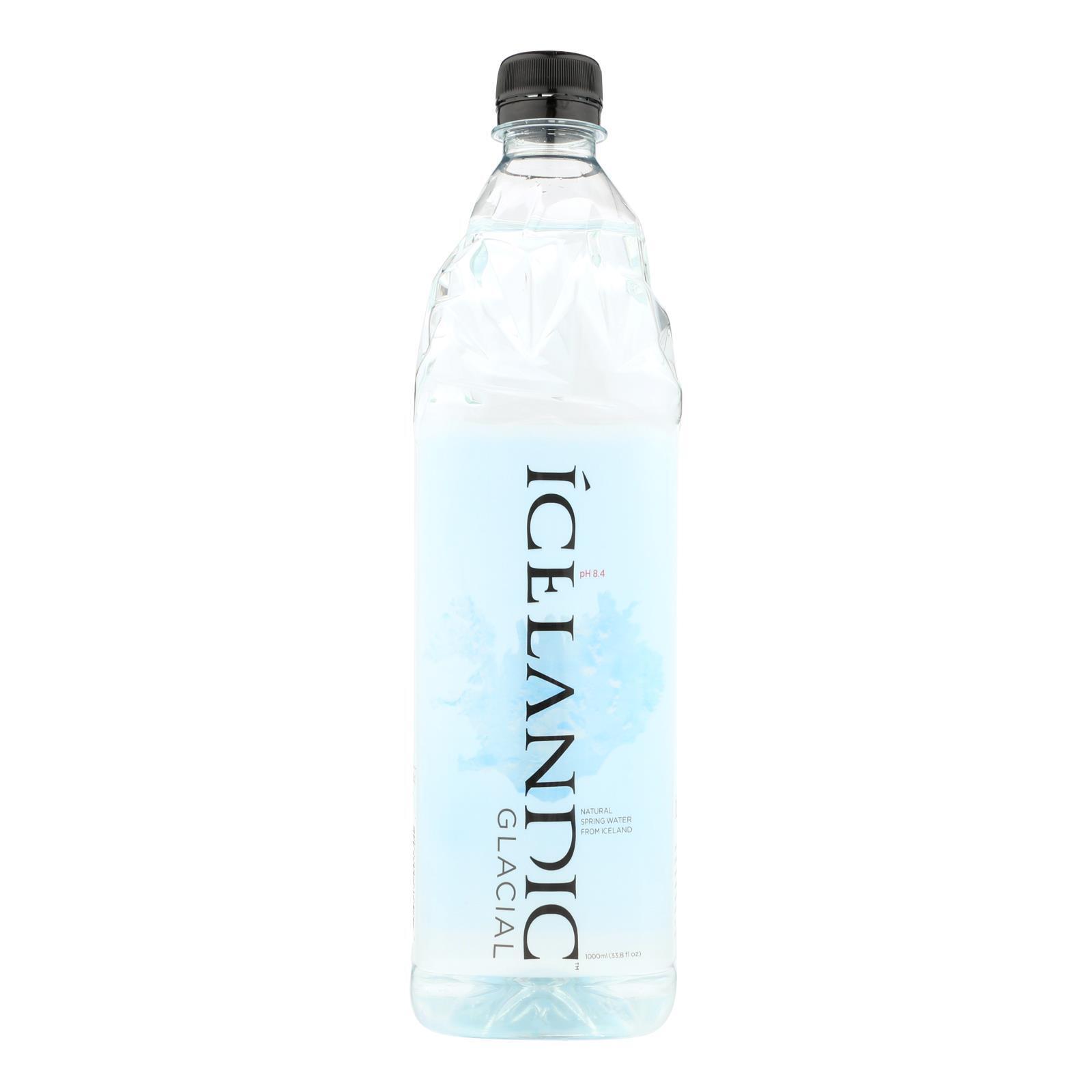 Icelandic Glacial Water - Case of 12 - 33.8 Fl oz.
