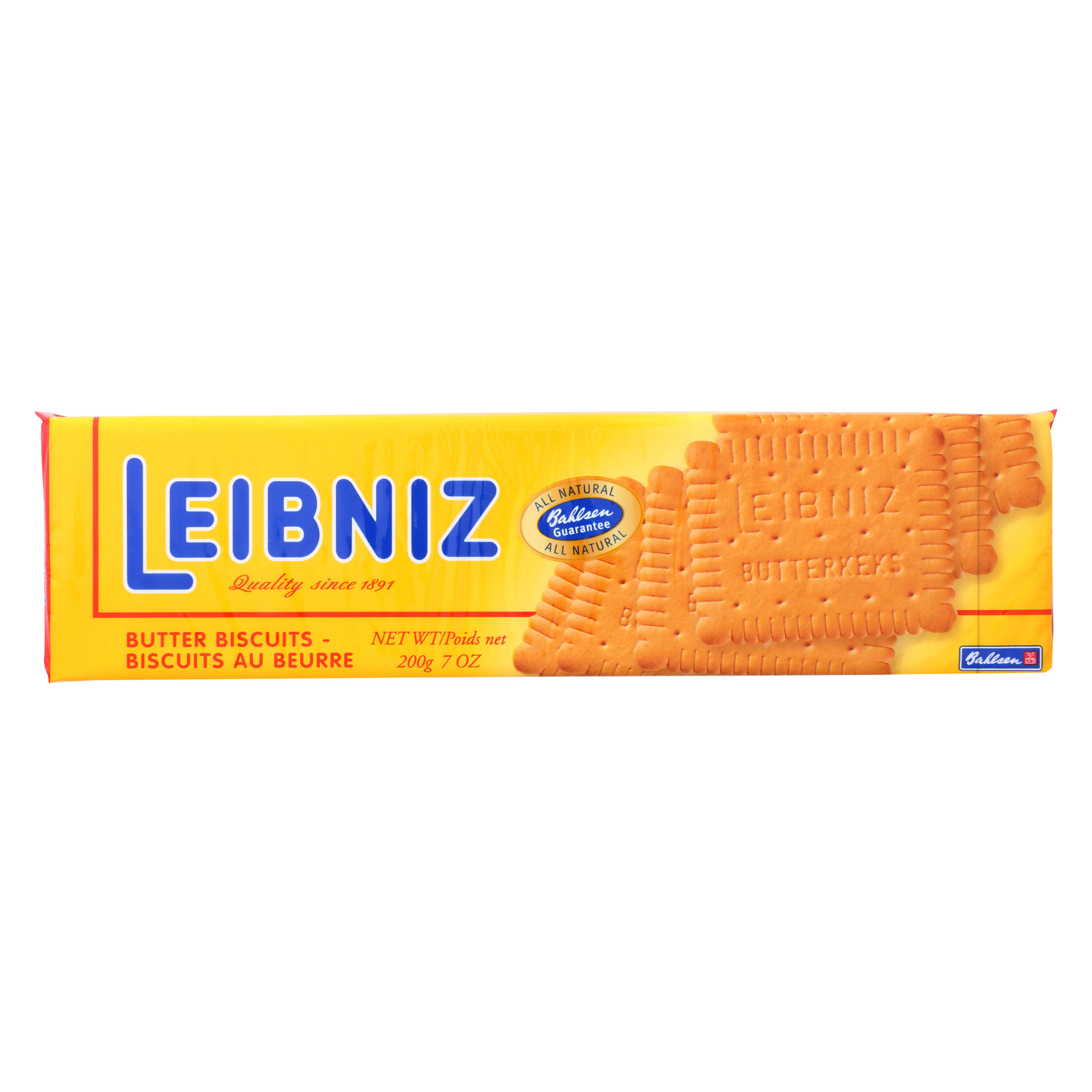 Bahlsen Leibniz Cookies - Case of 16 - 7 oz.