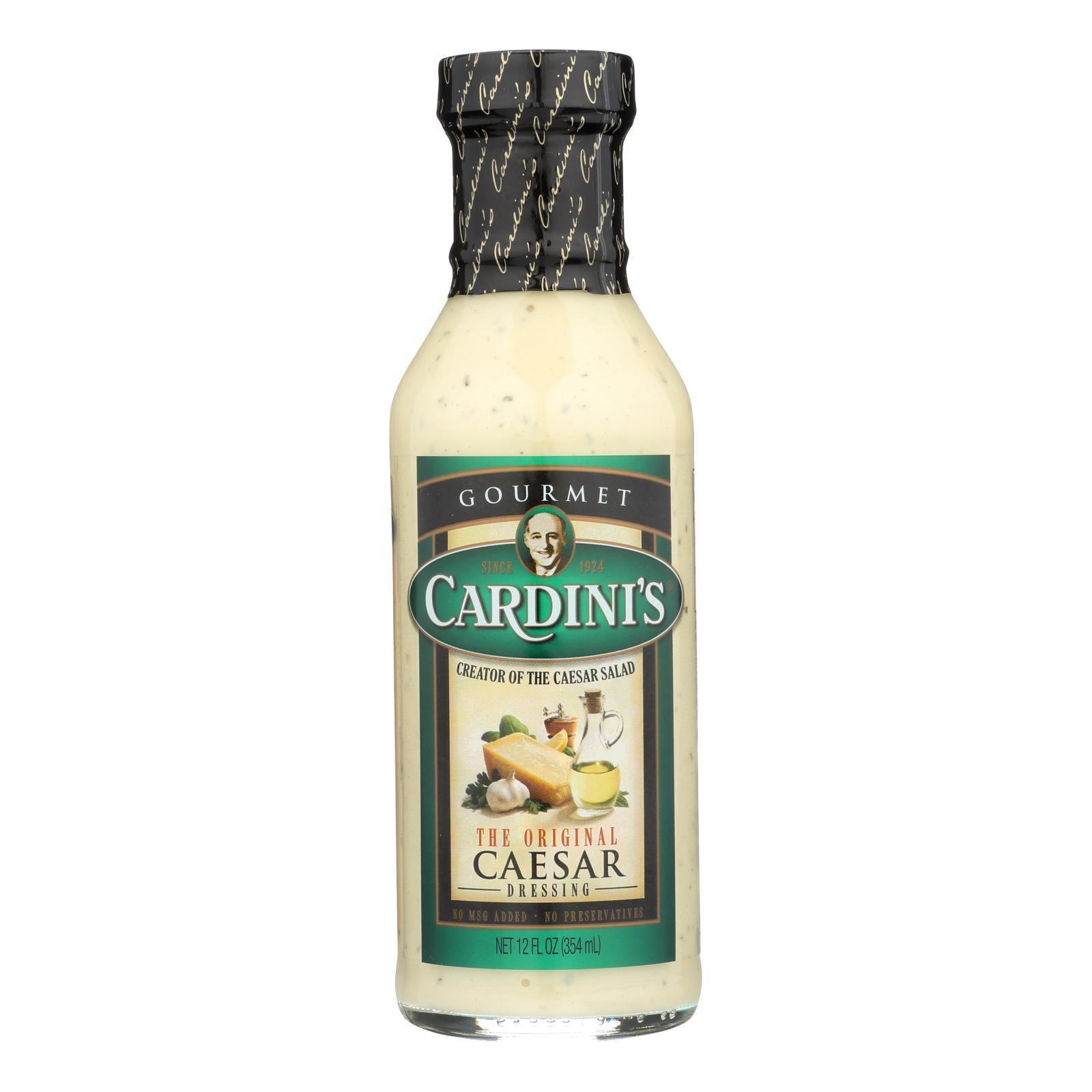 Cardini's Dressing - Original Caesar - Case of 6 - 12 fl oz