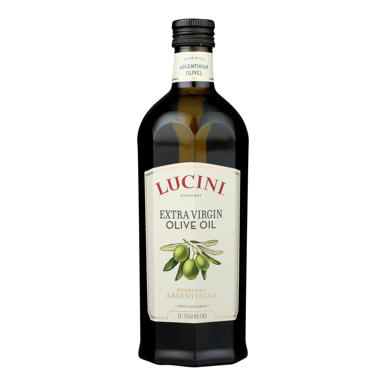 Lucini Italia Select Extra Virgin Olive Oil - Case of 6 - 1 Liter