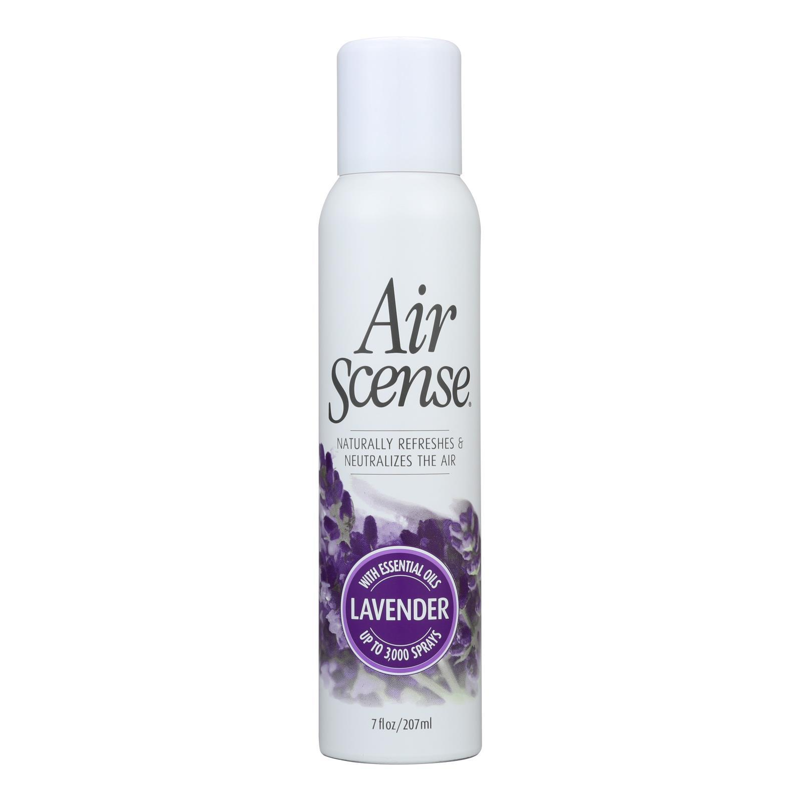 Air Scense Air Freshener - Lavender - Case of 4 - 7 oz