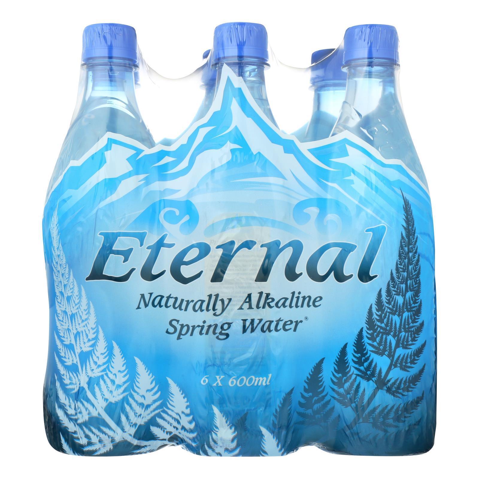 Eternal Naturally Artesian Water - Case of 4 - 600 ml