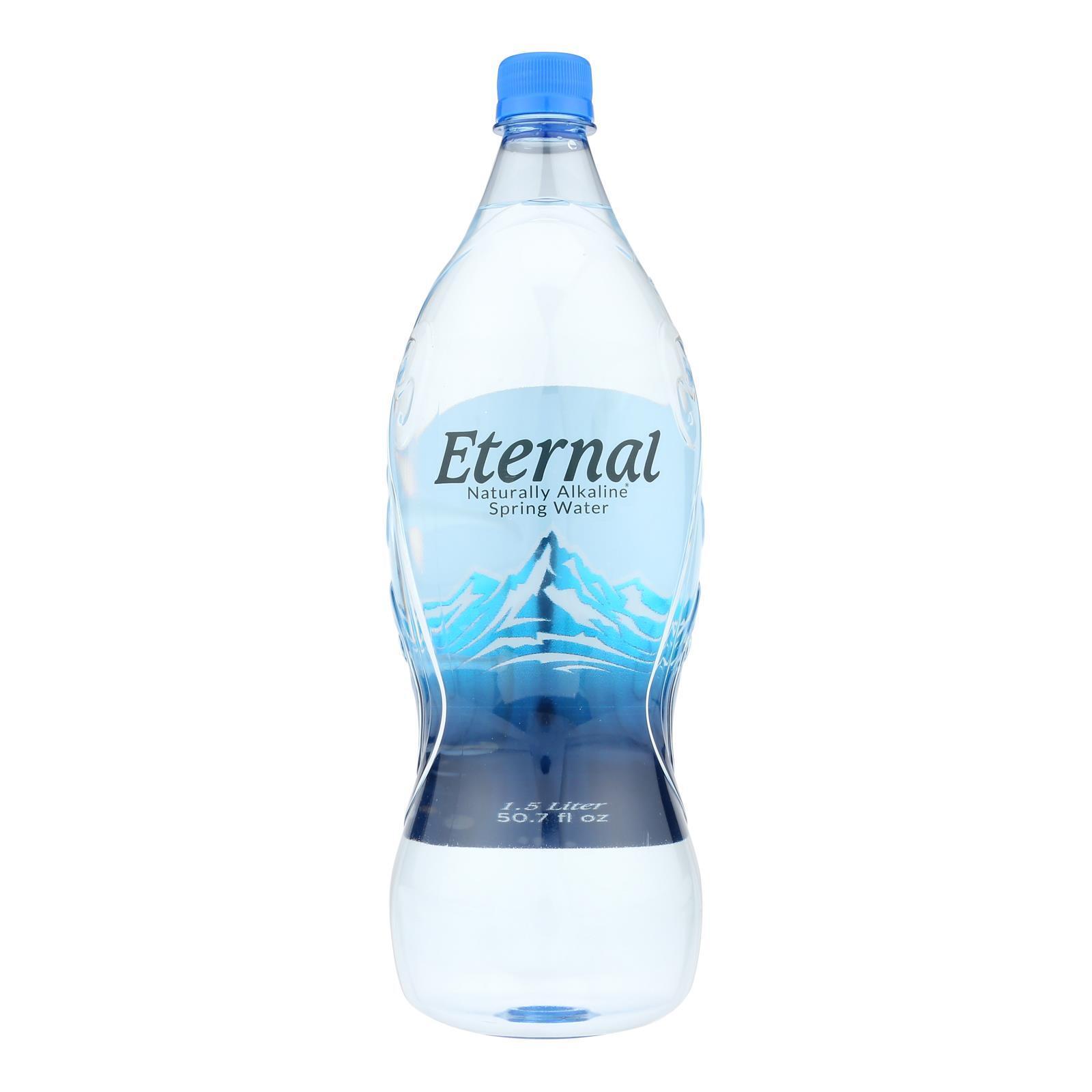 Eternal Naturally Artesion Water - Case of 12 - 1.5 Liter