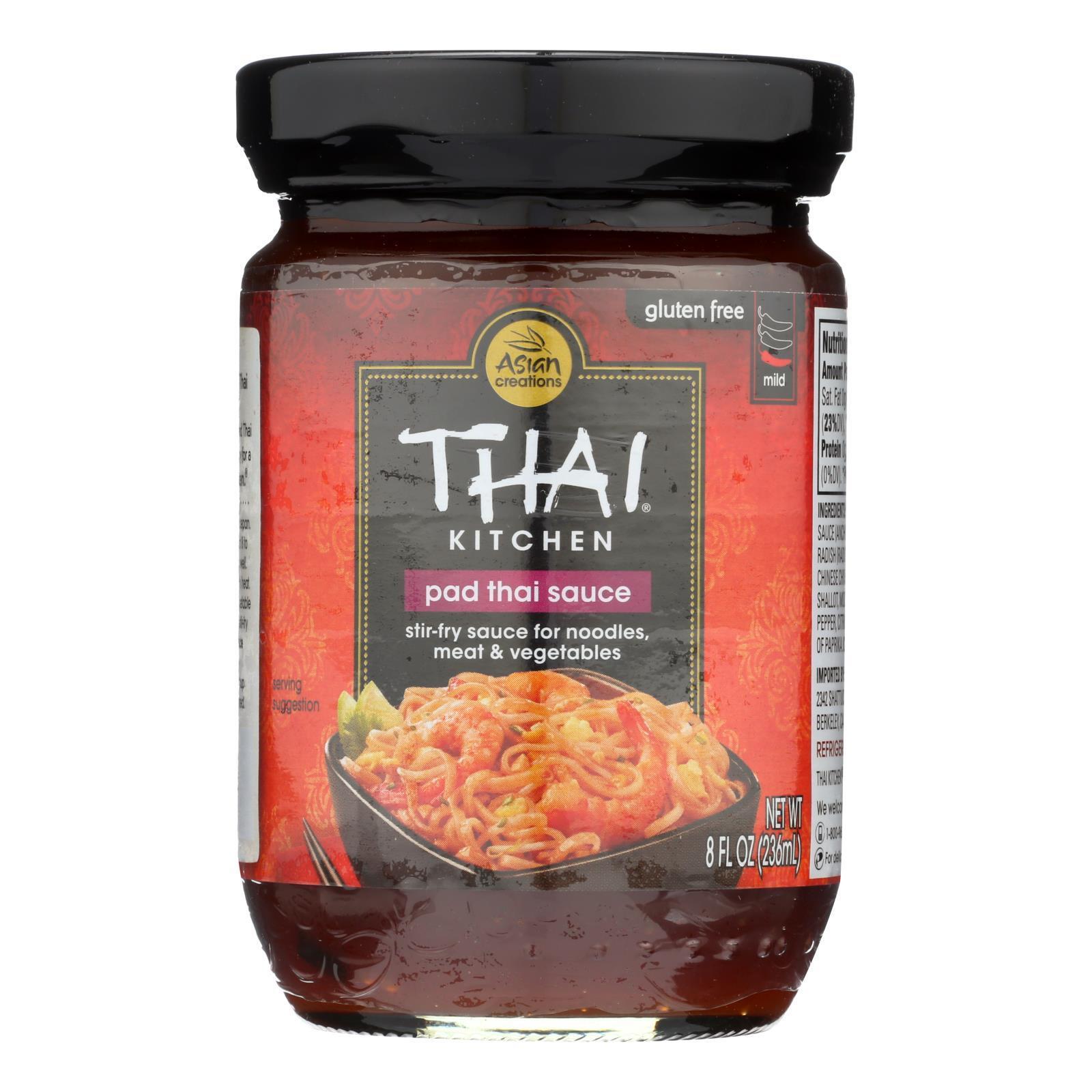 Thai Kitchen Original Pad Thai Sauce - Case of 12 - 8 Fl oz.