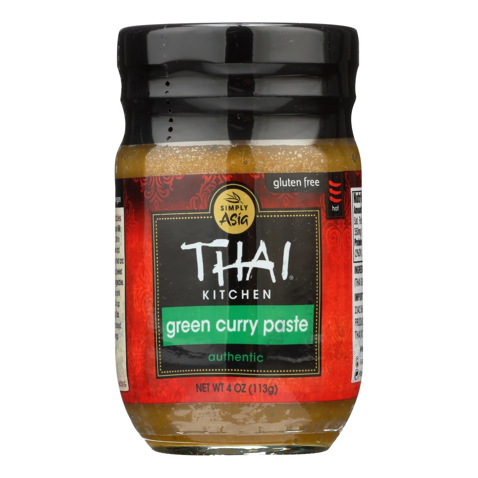 Thai Kitchen Green Curry Paste - Case of 12 - 4 oz.