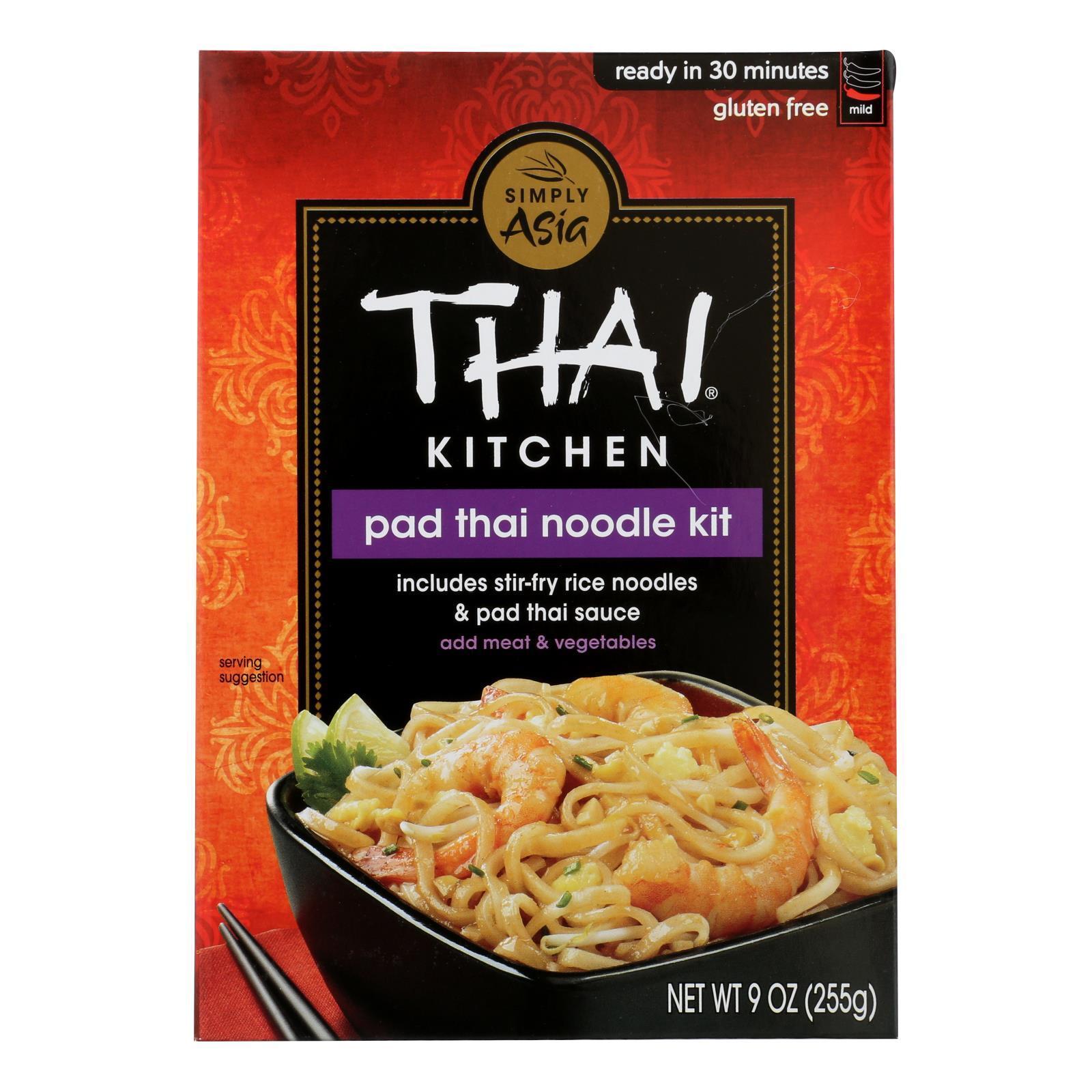 Thai Kitchen Noodle Kit - Pad Thai - Case of 12 - 9 oz.