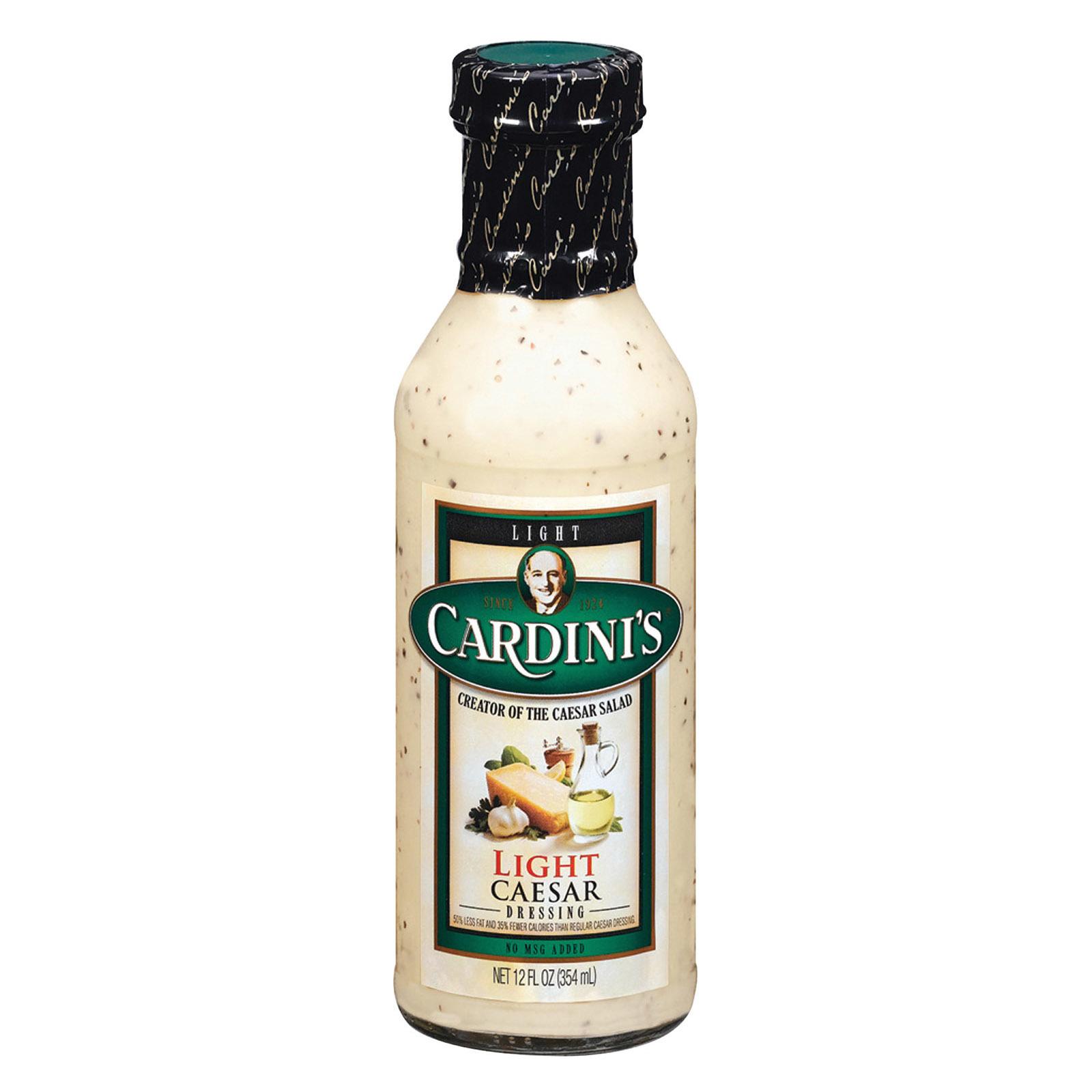 Cardini's Dressing: Light Caesar - Case of 6 - 12 fl oz
