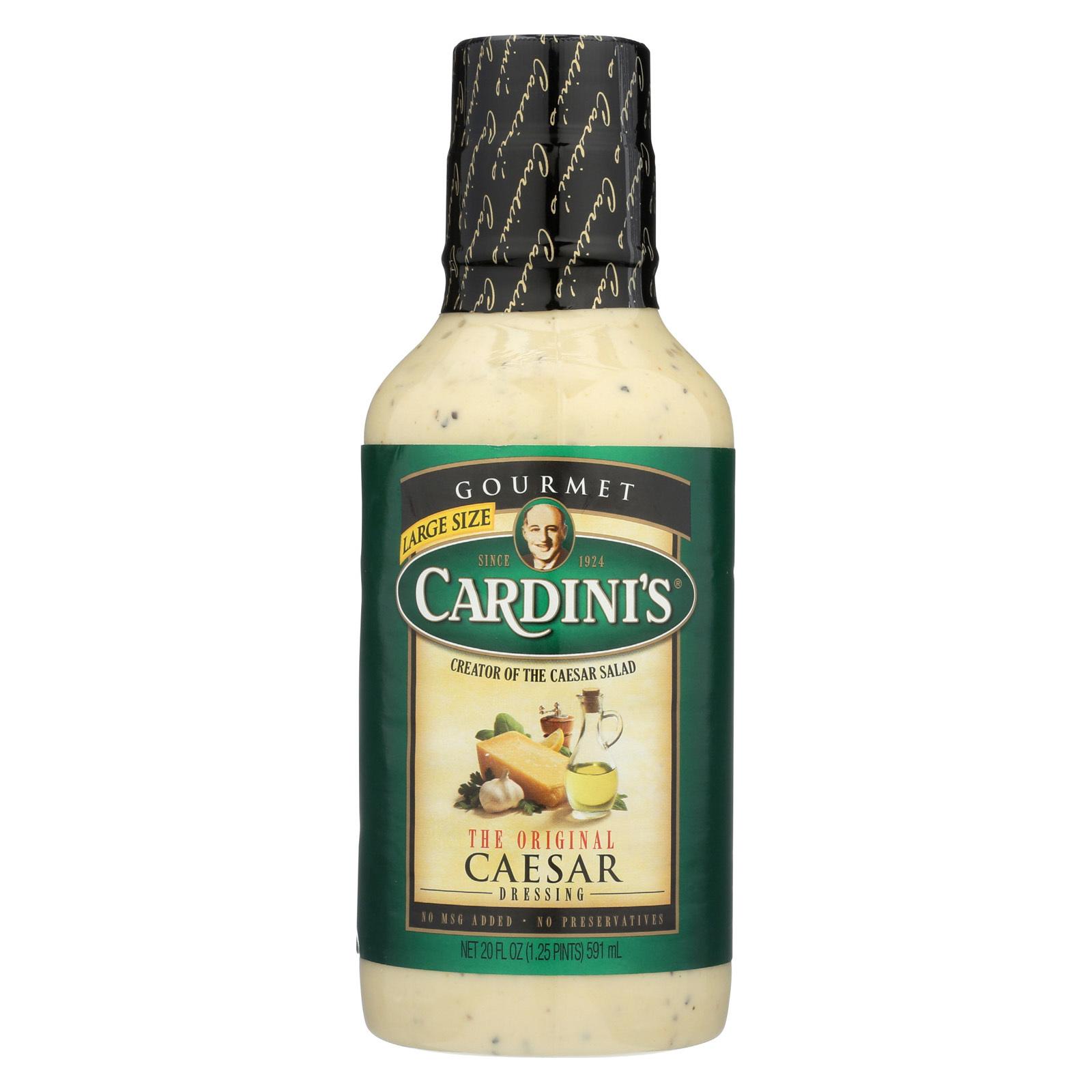 Cardini's Caesar Salad Dressing - Case of 6 - 20 fl oz