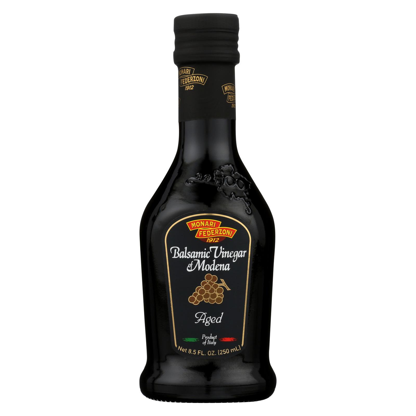 Monari Federzoni Balsamic Vinegar of Modena - Gold Label - Case of 6 - 8.5 Fl oz.