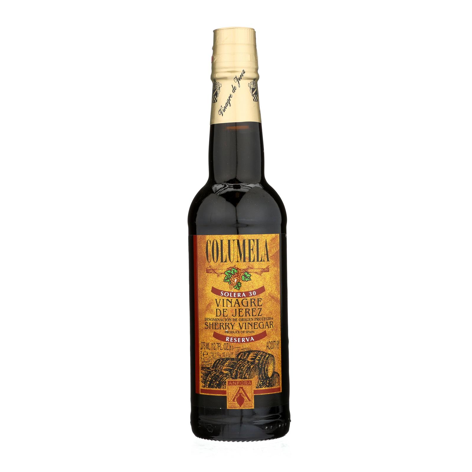 Columela Sherry Wine Vinegar - Case of 6 - 12.7 Fl oz.