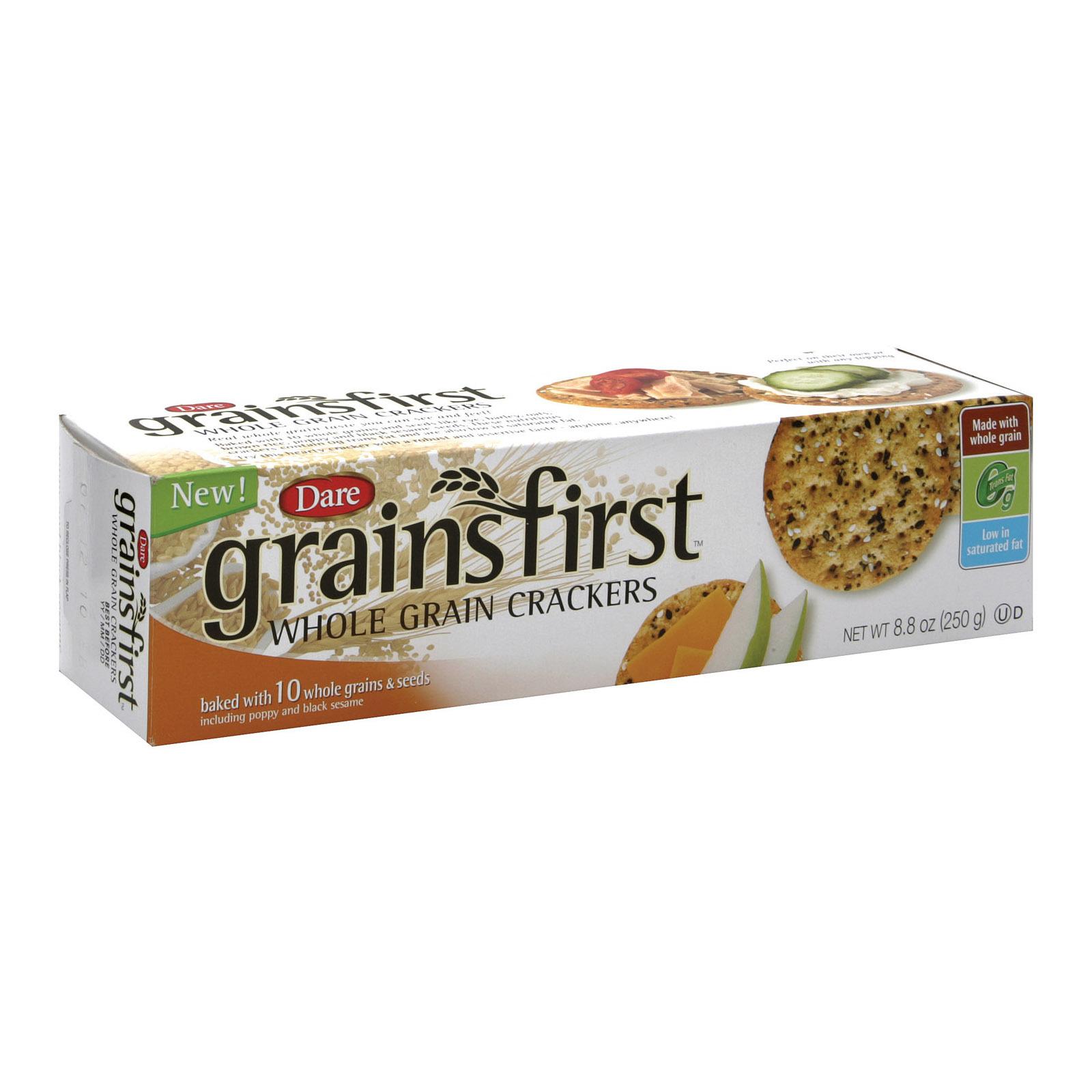 Dare Grain First - Whole Grain - Case of 12 - 8.8 oz.