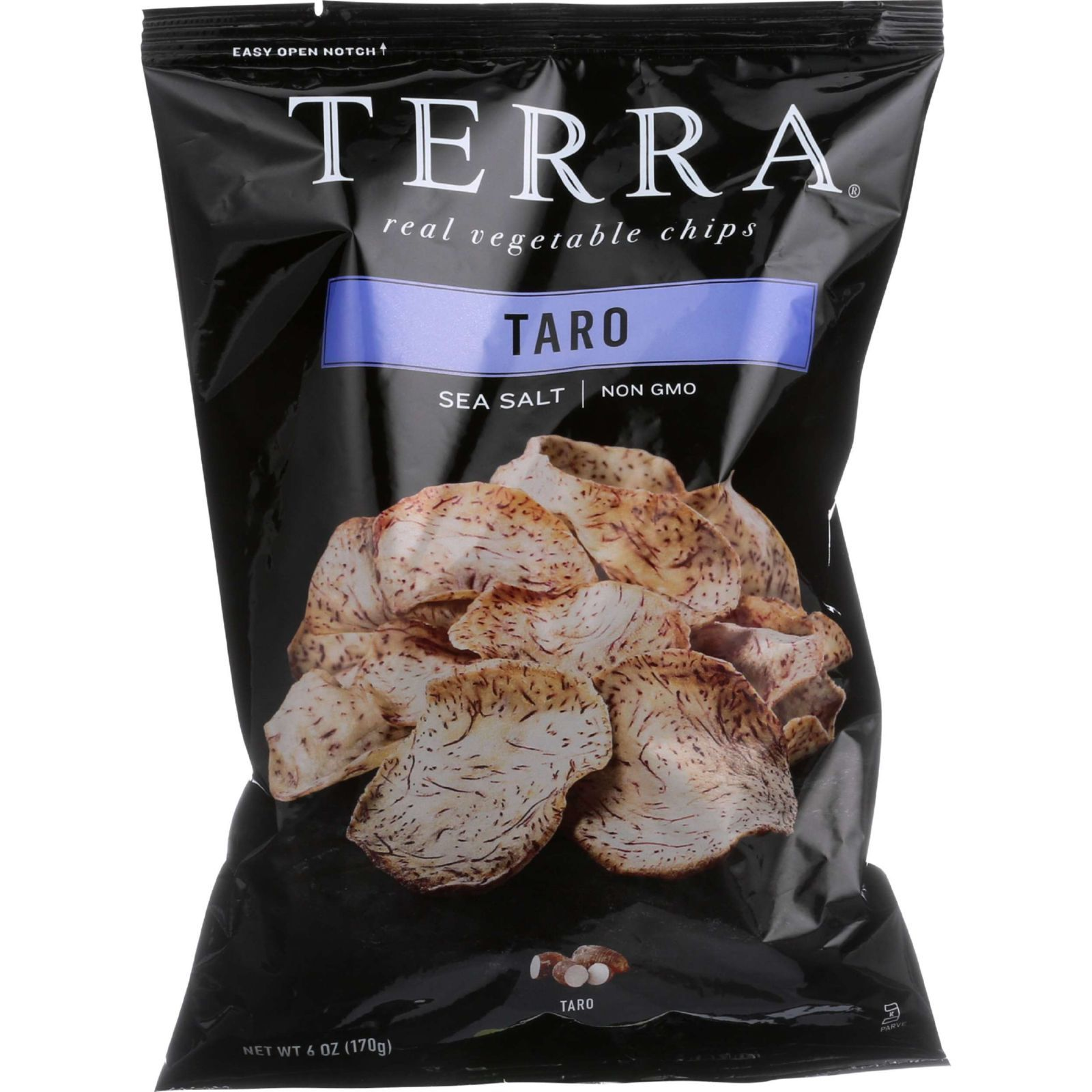 Terra Chips Chips - Exotic Vegetable - Taro - 6 oz - case of 12