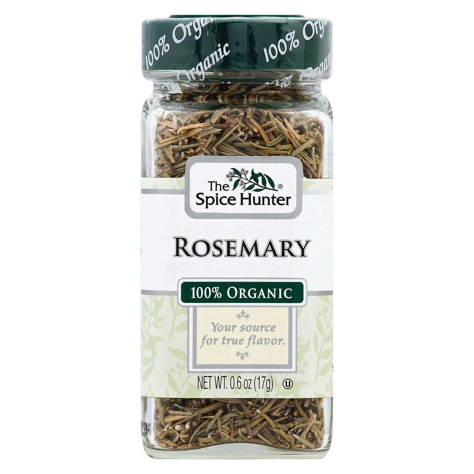 Spice Hunter 100% Organic Spice - Rosemary - Case of 6 - .6 oz