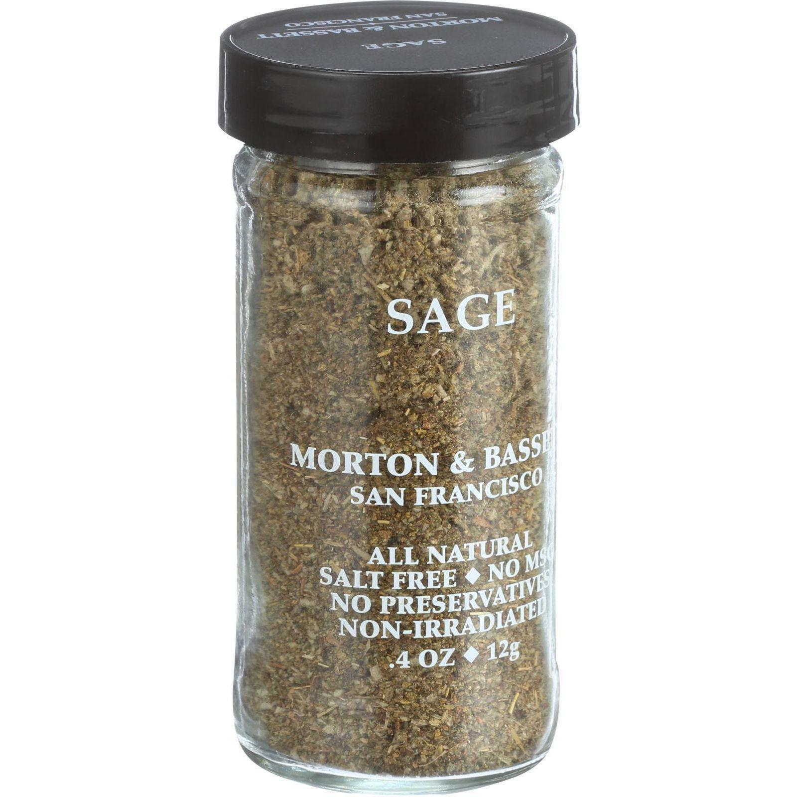 Morton and Bassett Sage - .33 oz - Case of 3