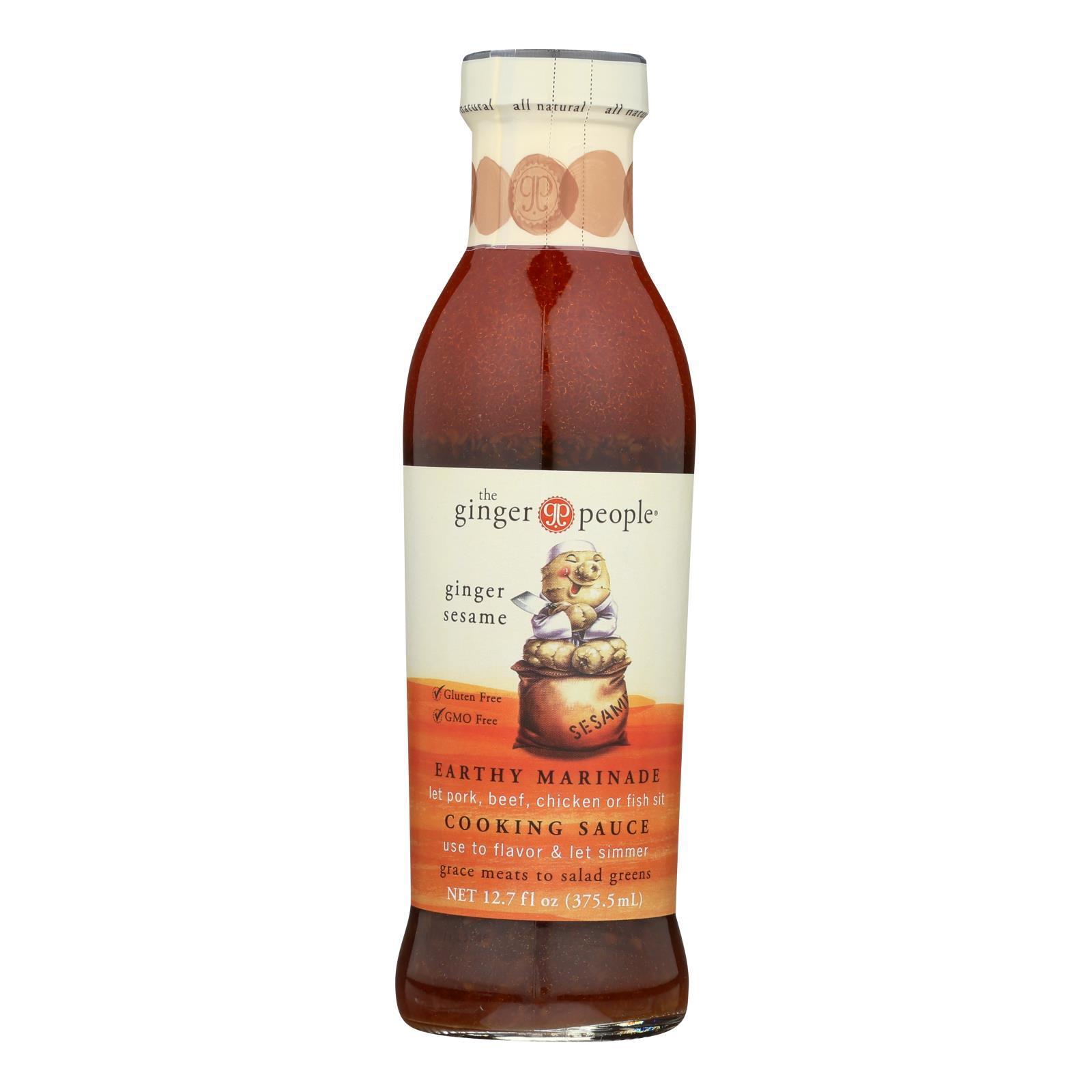 The Ginger People Sauce - Sesame - Case of 12 - 12.7 Fl oz.