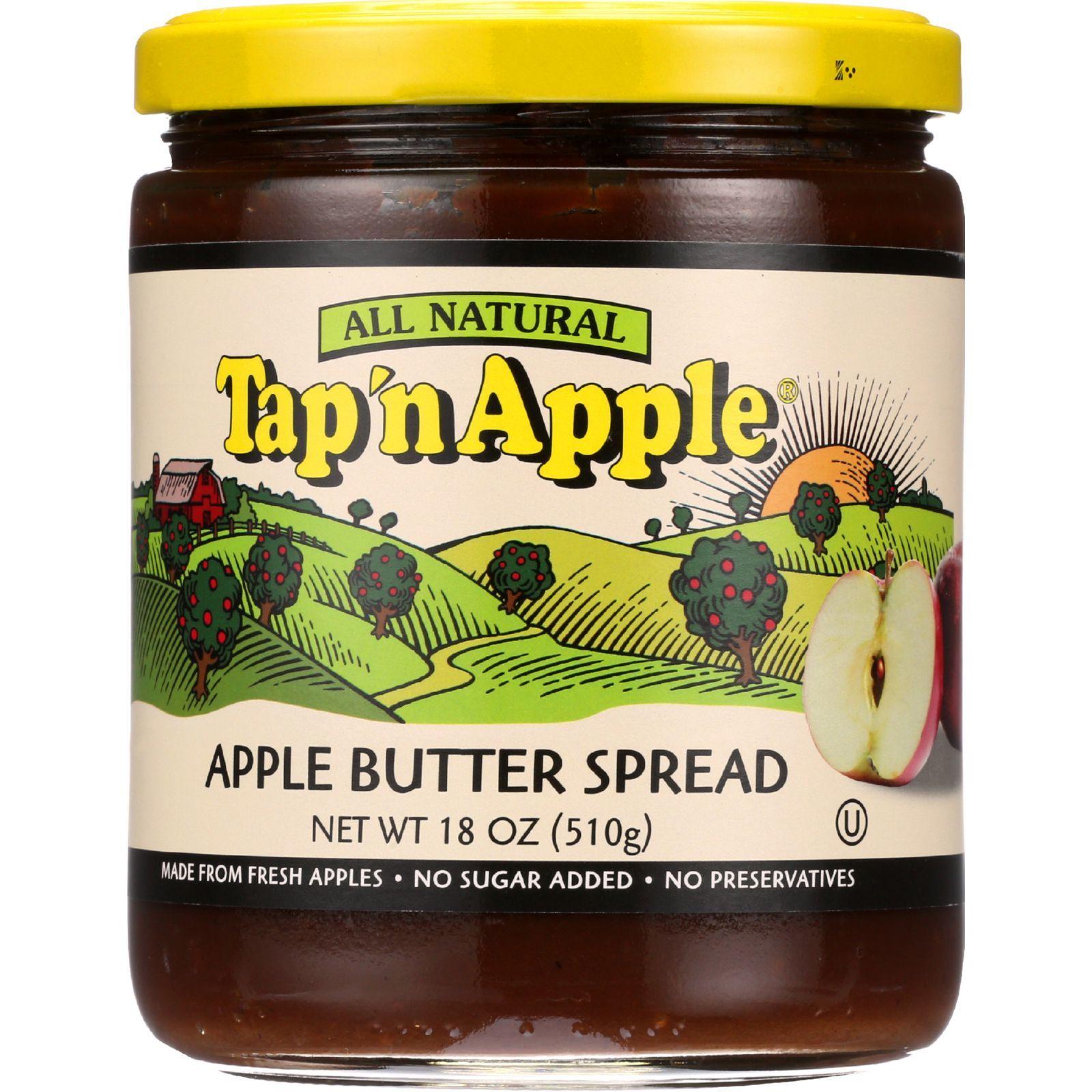 TapN Apple Butter Spread - Apple Butter - 18 oz - 1 each