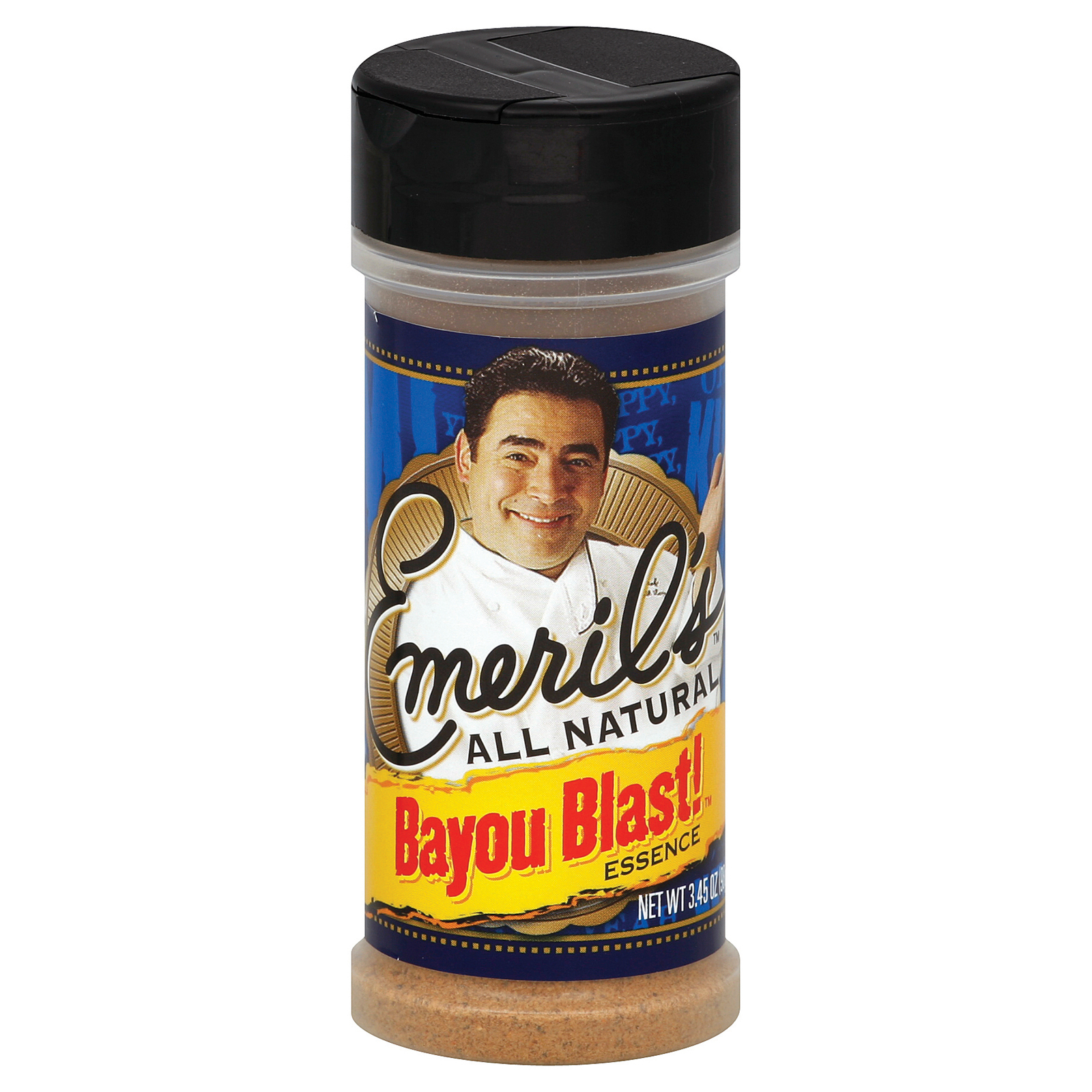 Emeril Seasoning Blend - Bayou Blast - Case of 12 - 3.45 oz.