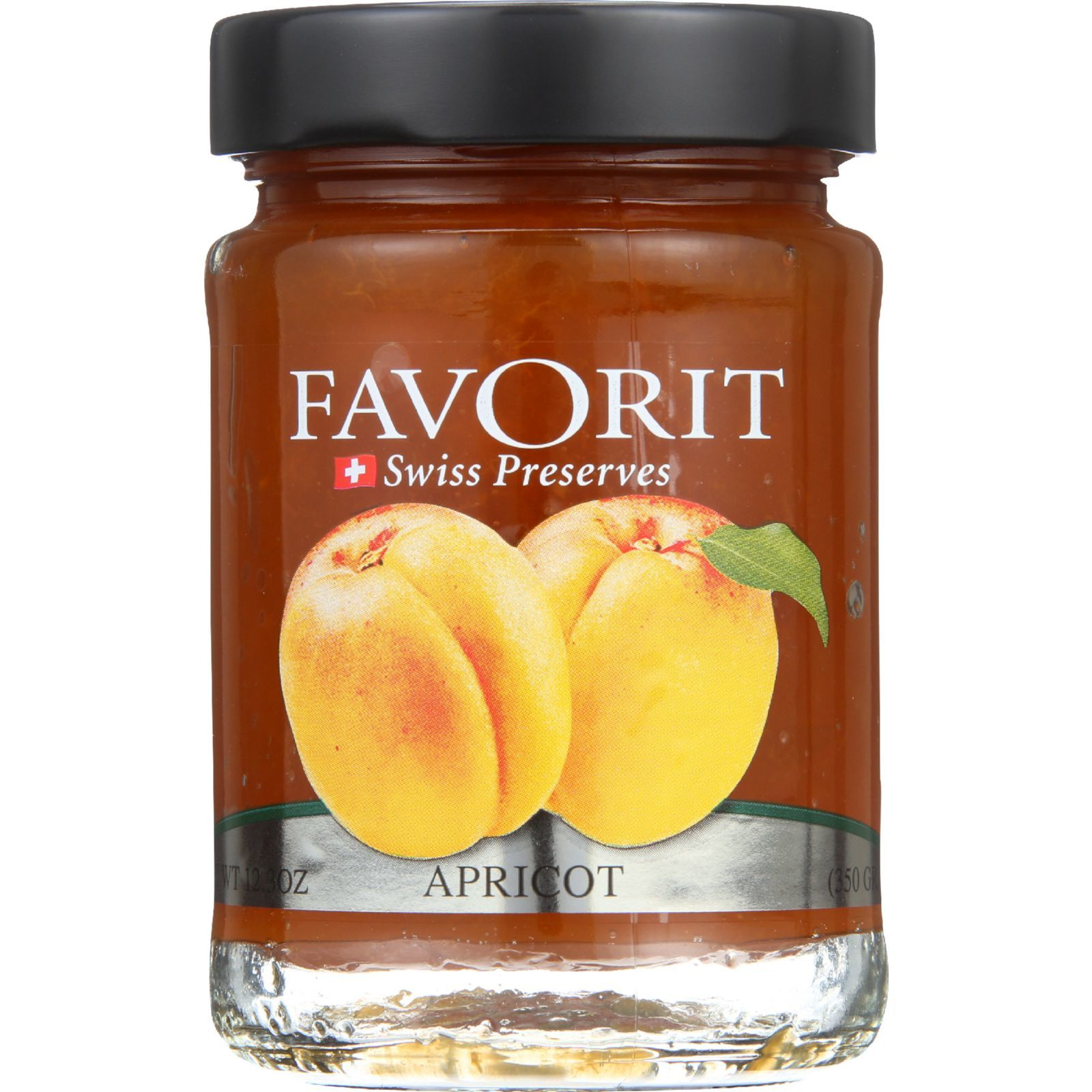 Favorit Preserves - Swiss - Apricot - 12.3 oz - case of 6