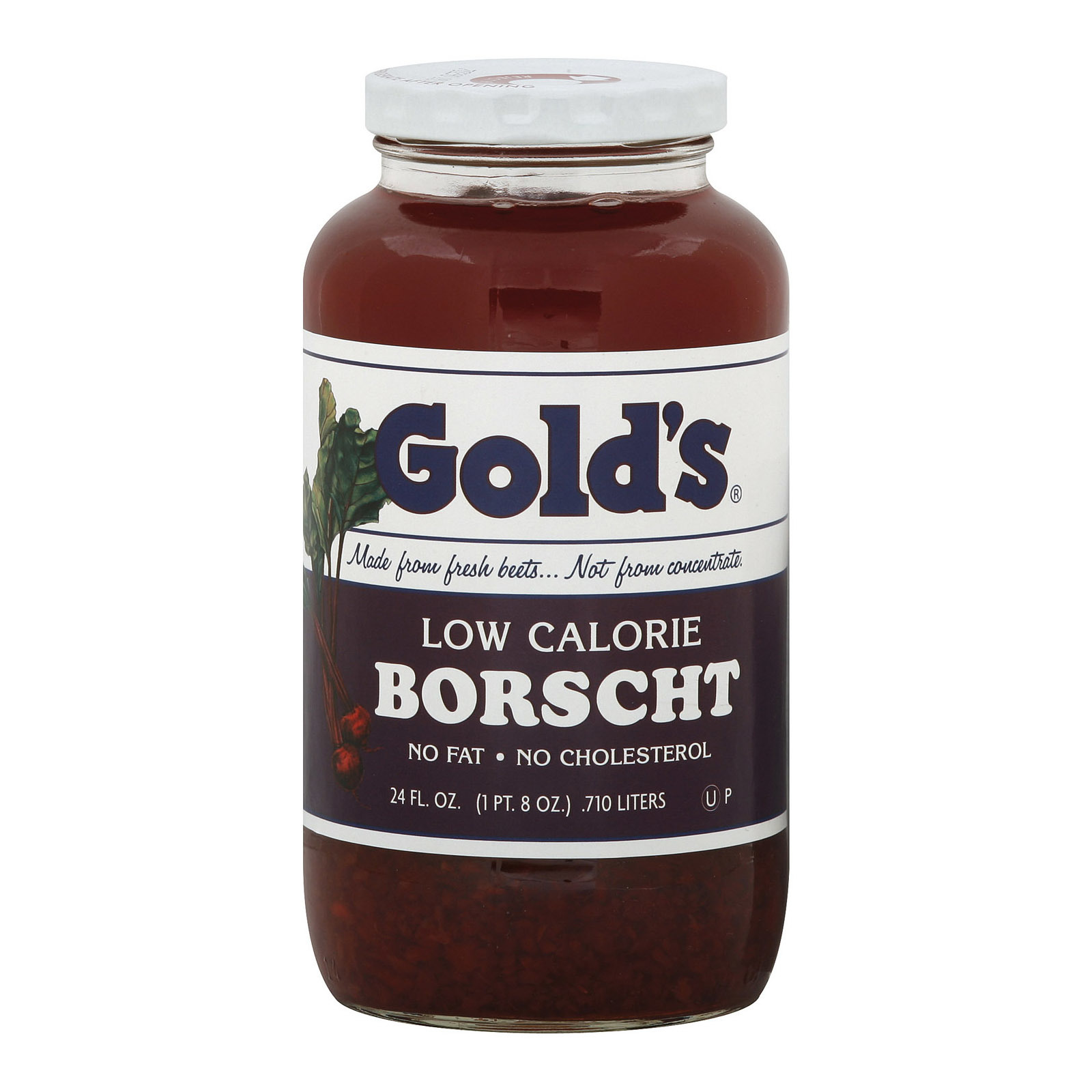 Golds Soup - Low Calorie Borscht - Case of 12 - 24 oz.