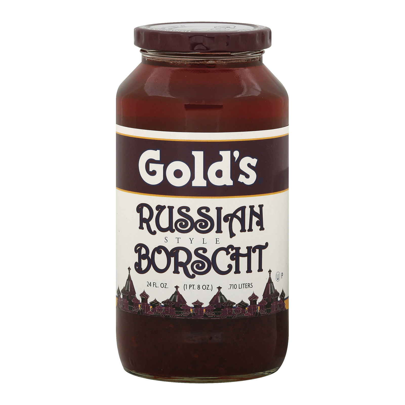 Golds Soup - Russian Borscht - Case of 12 - 24 oz.