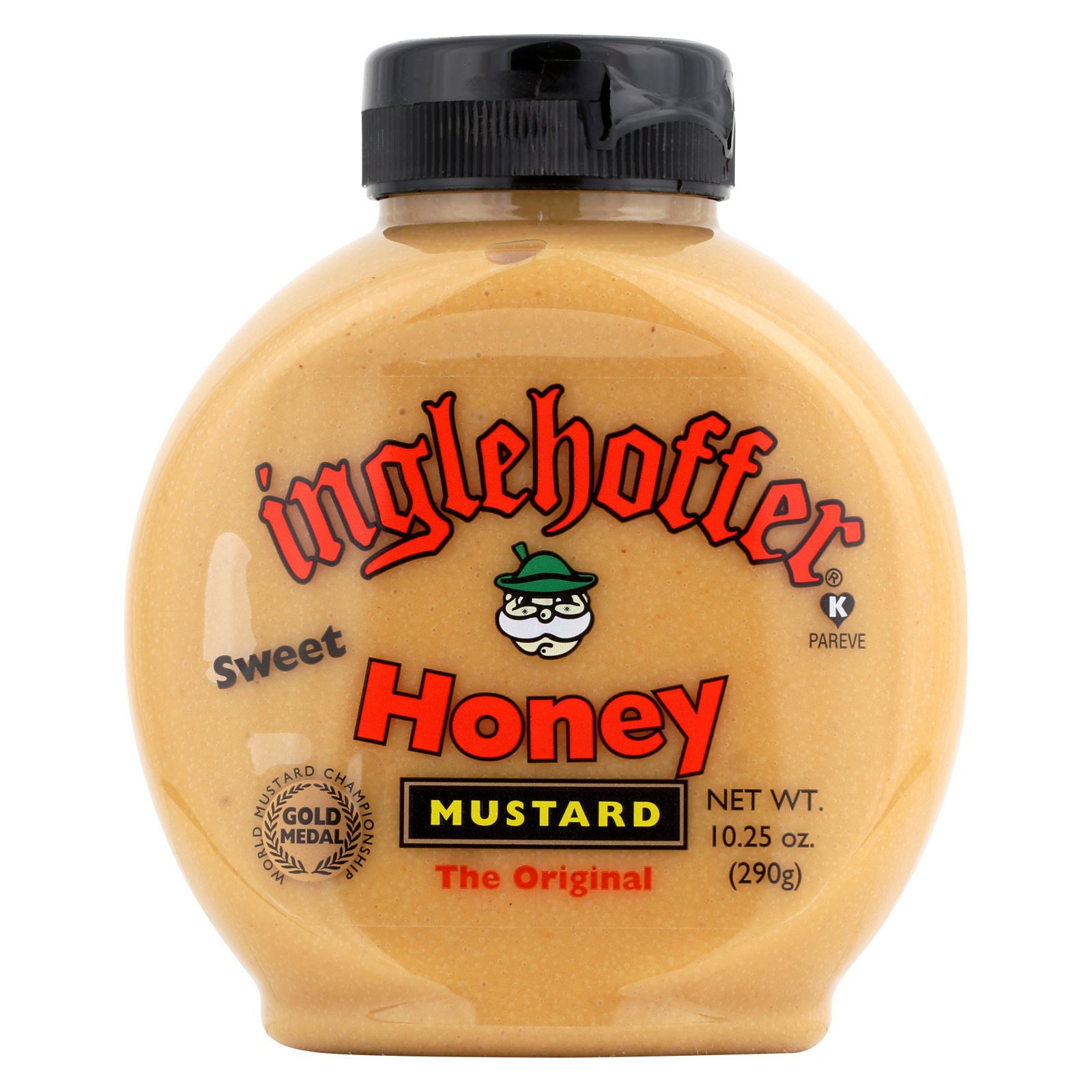 Inglehoffer Mustard - Honey - Case of 6 - 10.25 oz.