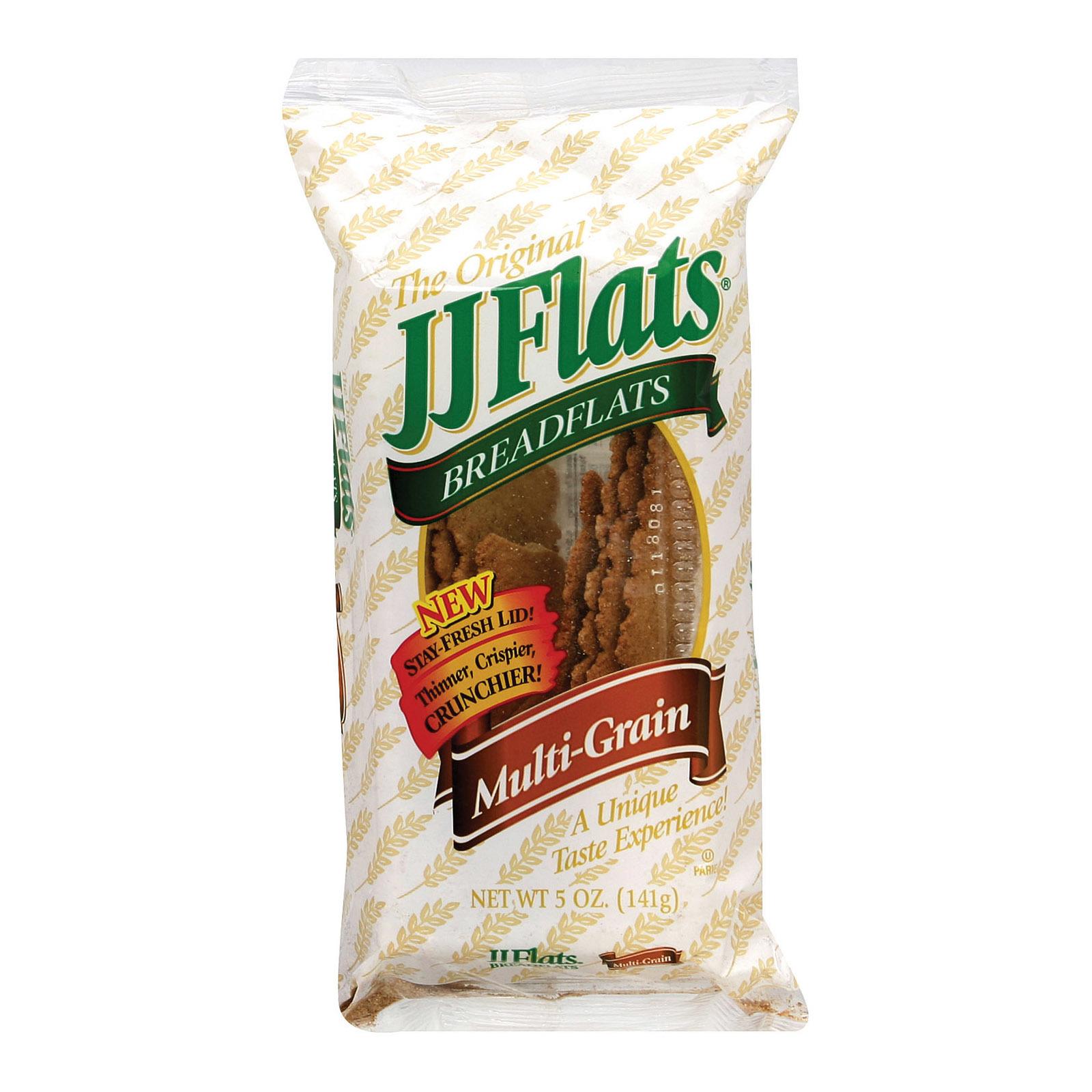 Jj Flats Flatbread - 7 Grain - Case of 12 - 5 oz.