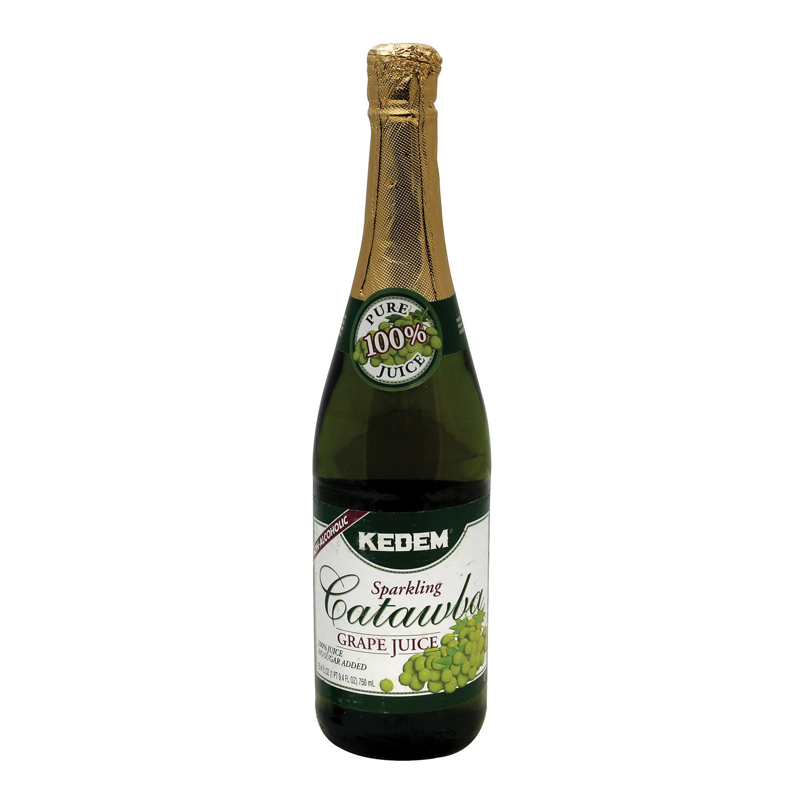 Kedem Catawba Grape Juice - Case of 12 - 25.4 Fl oz.