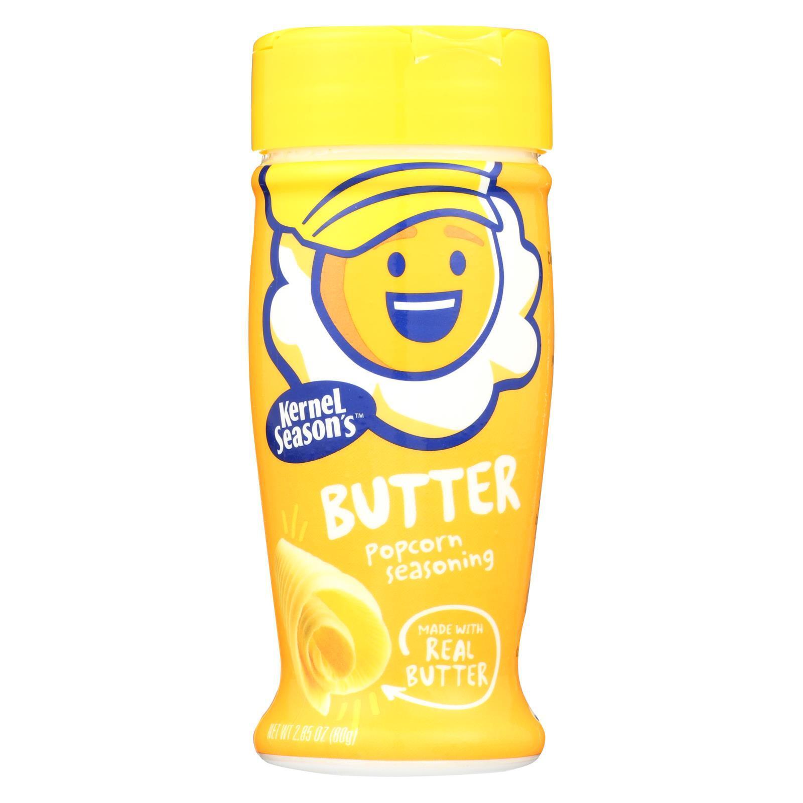 Kernel Seasons Popcorn Seasoning - Butter - Case of 6 - 2.85 oz.