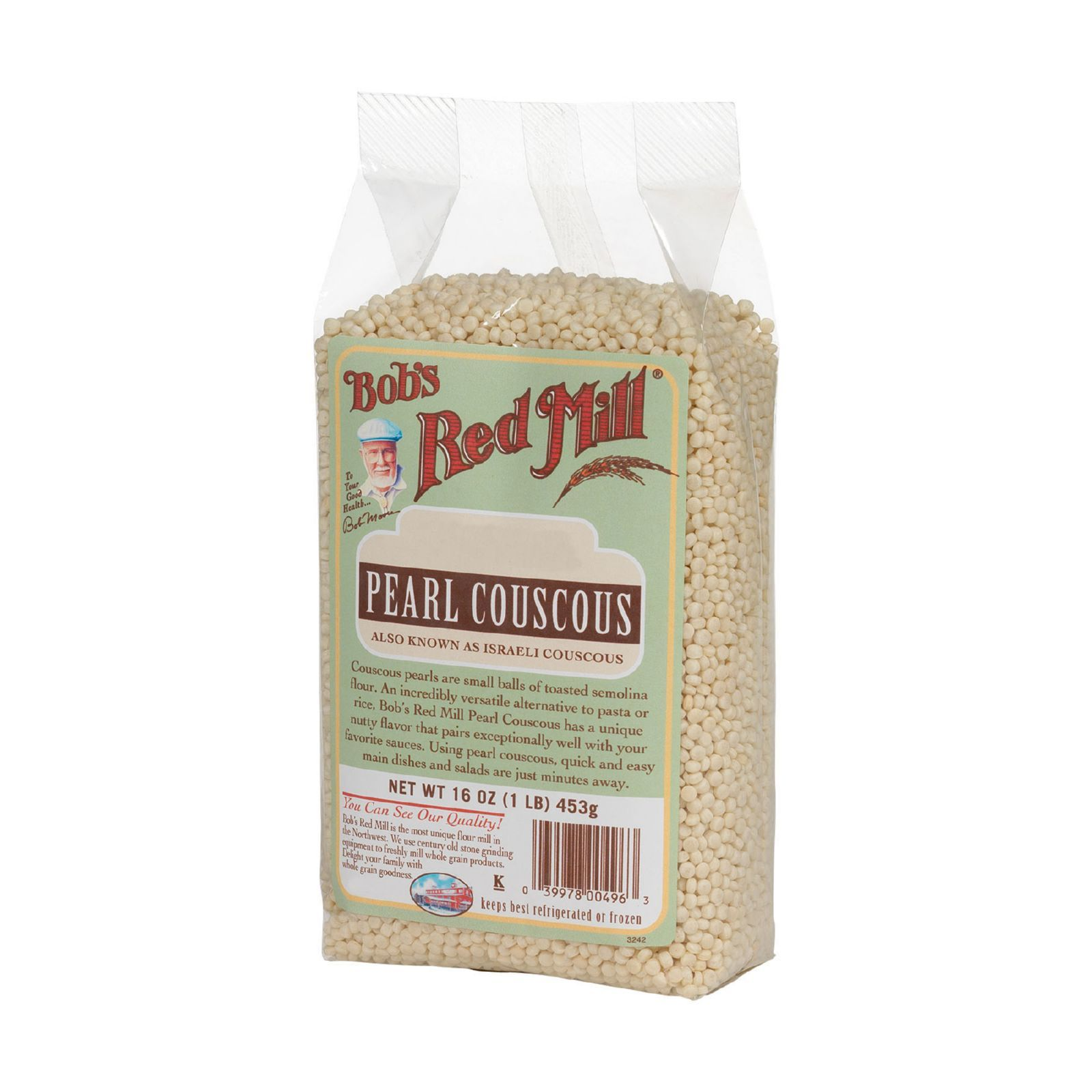 Bob's Red Mill Traditional Pearl Couscous - 16 oz - Case of 4