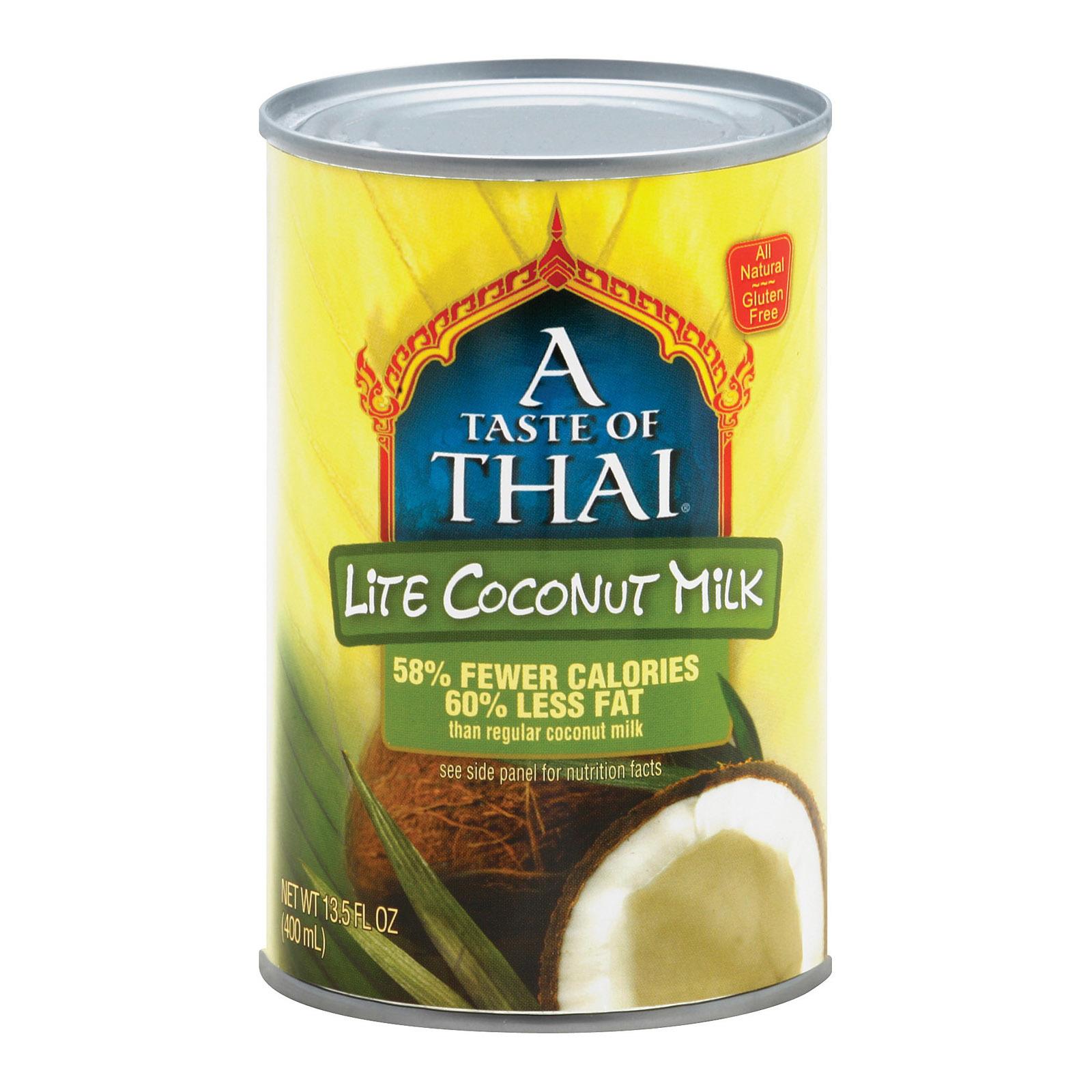 Taste of Thai Coconut Milk - Light - 13.5 Fl oz.