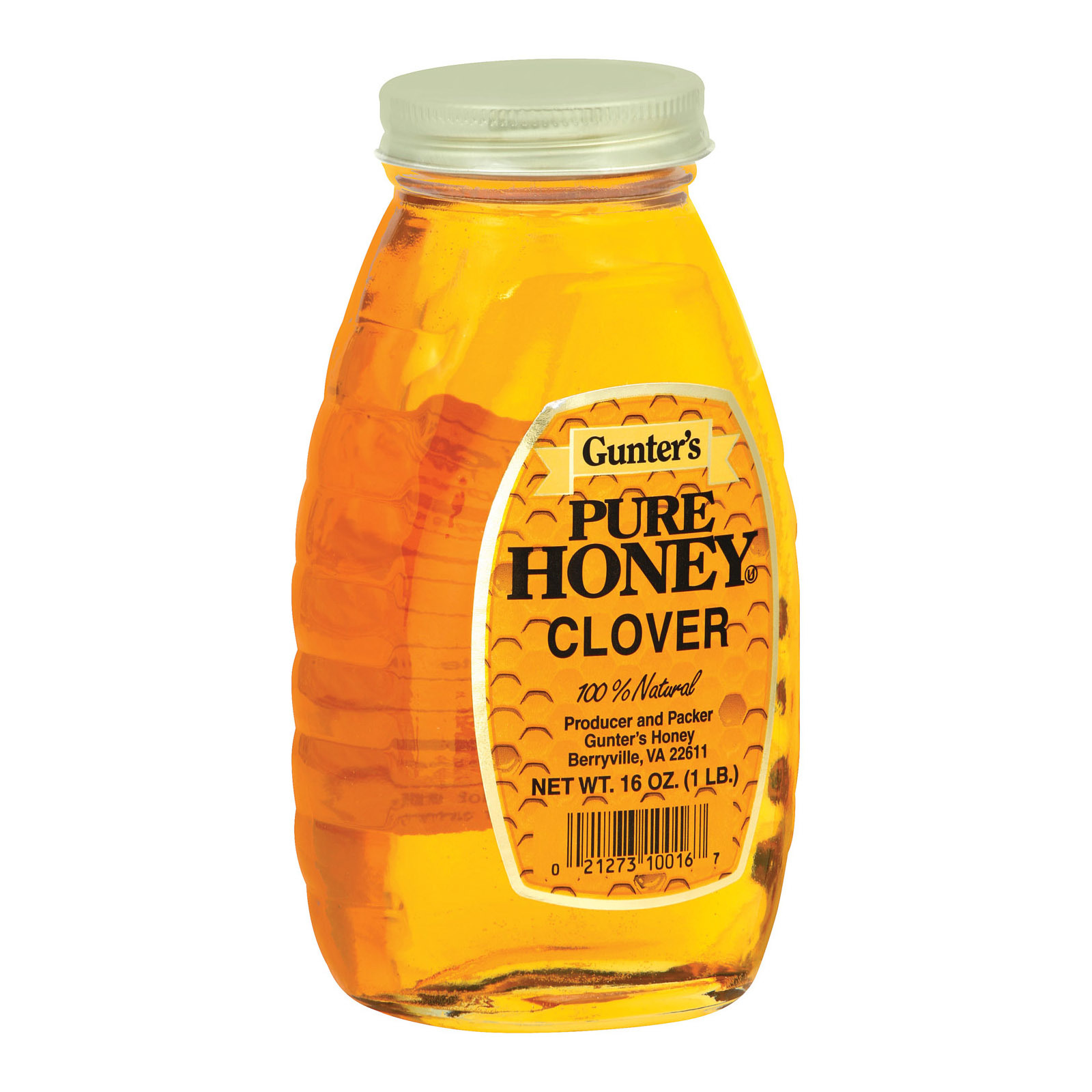 Gunter Pure Clover Honey - 16 oz.