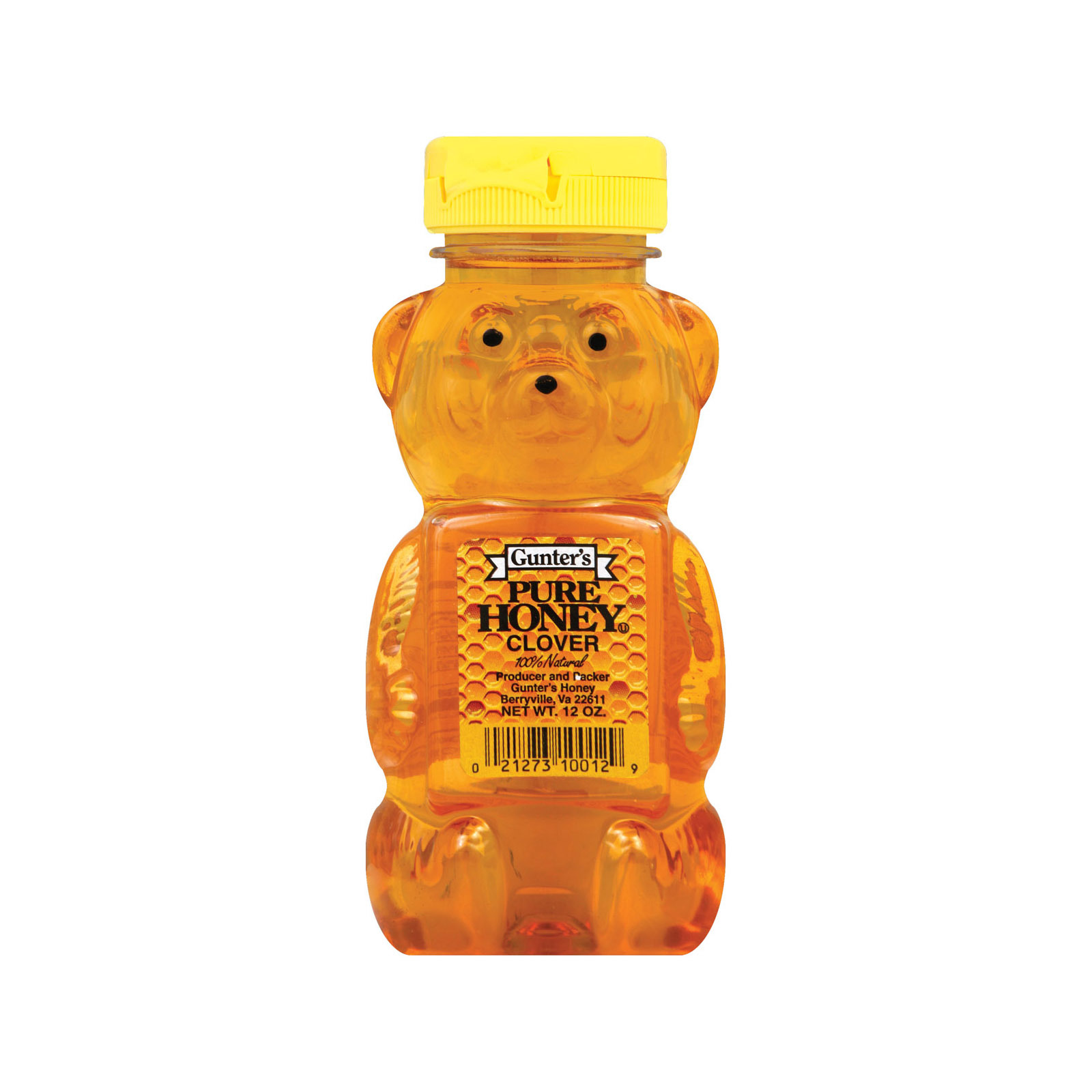 Gunter Pure Clover Honey - 12 oz.