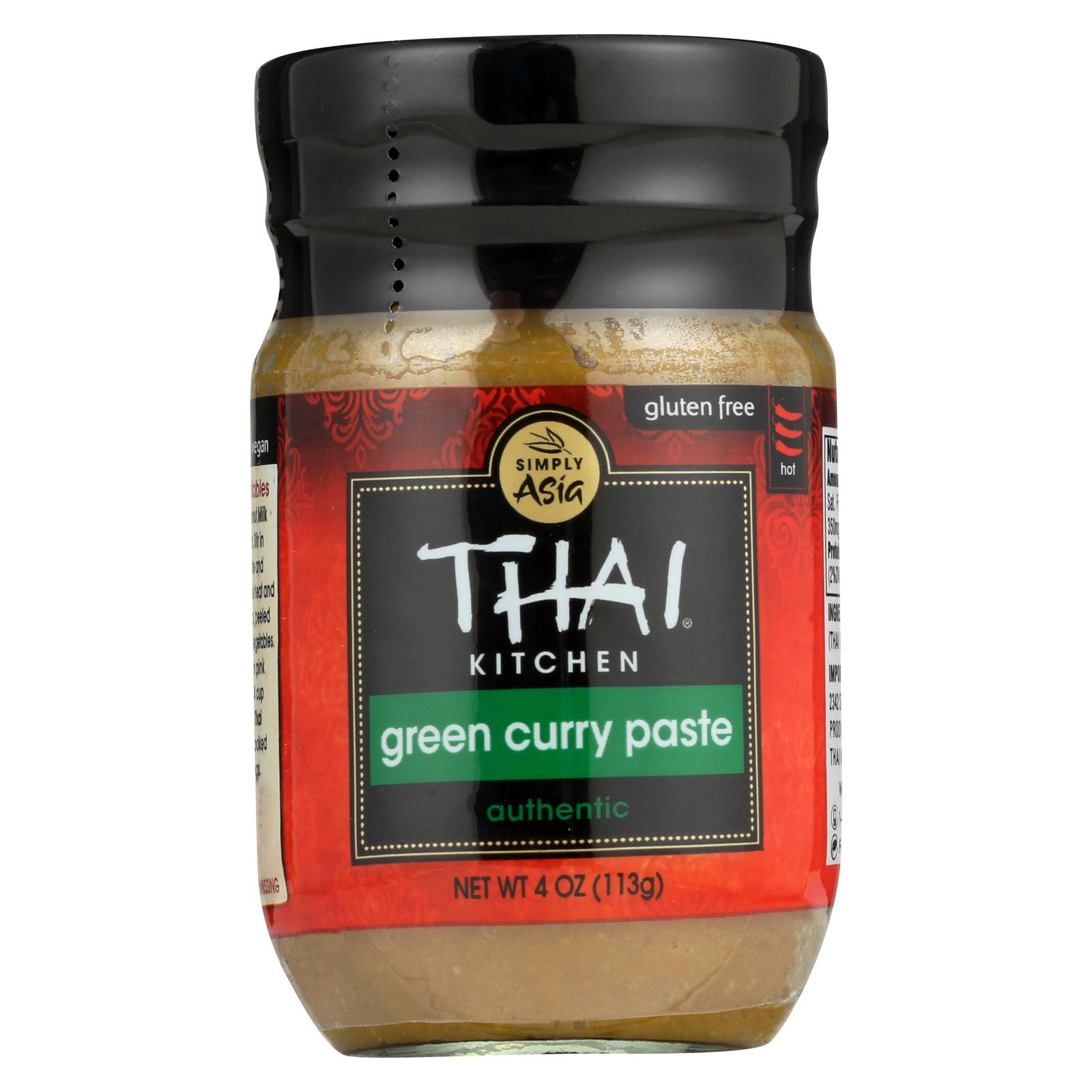 Thai Kitchen Green Curry Paste - 4 oz.