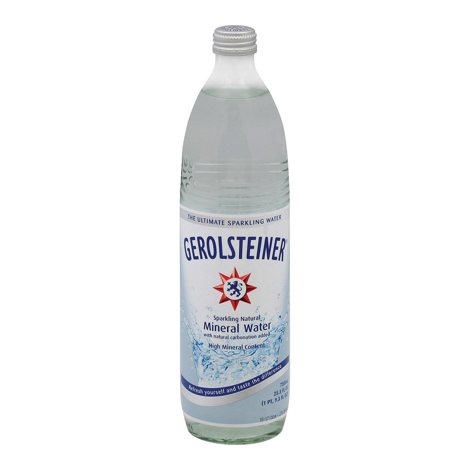 Gerolsteiner Mineral Water - Case of 15 - 25.3 Fl oz.