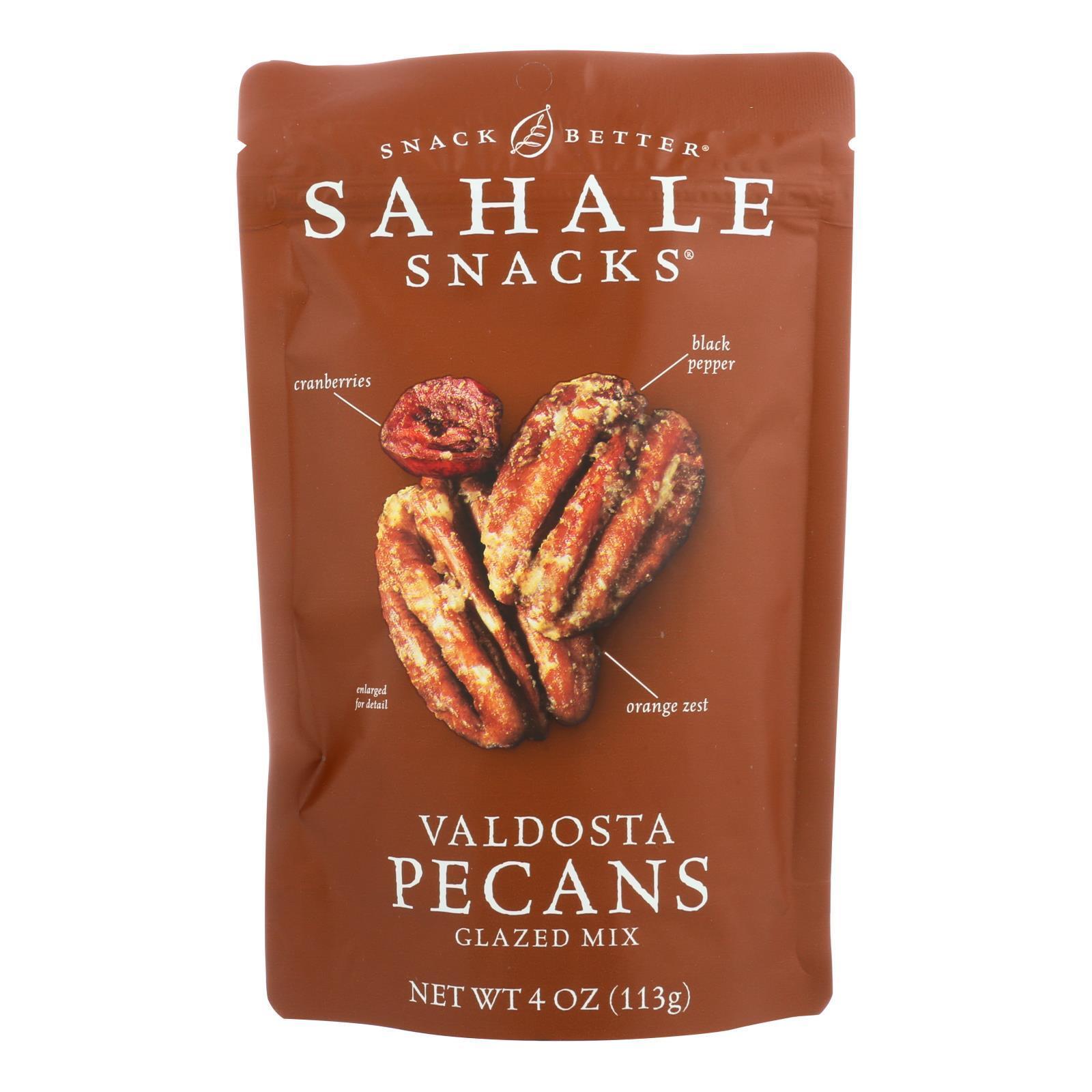 Sahale Snacks Valdosta Pecans Glazed - Mix - Case of 6 - 4 oz.