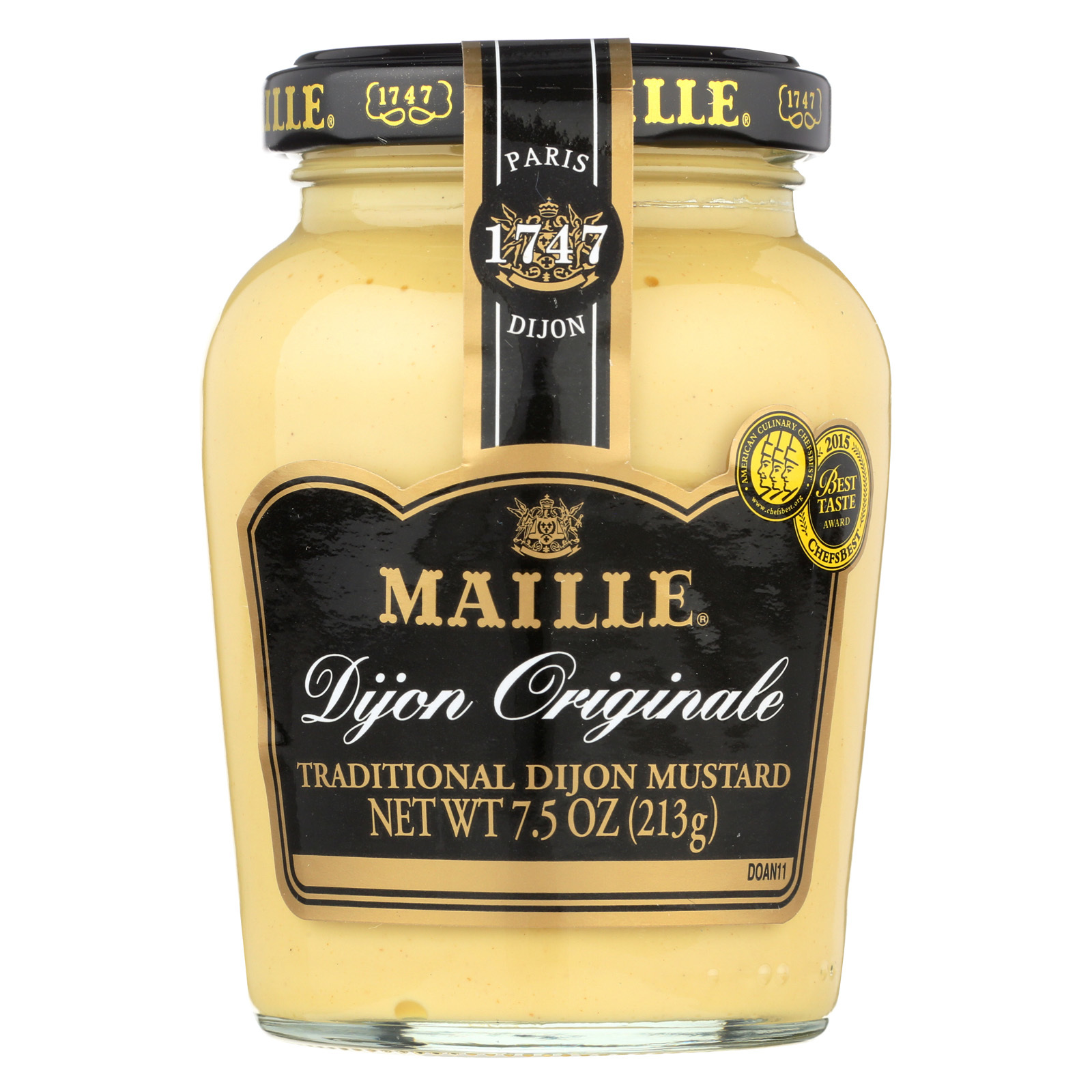 Maille Original Dijon Mustard - Case of 6 - 7.5 oz.