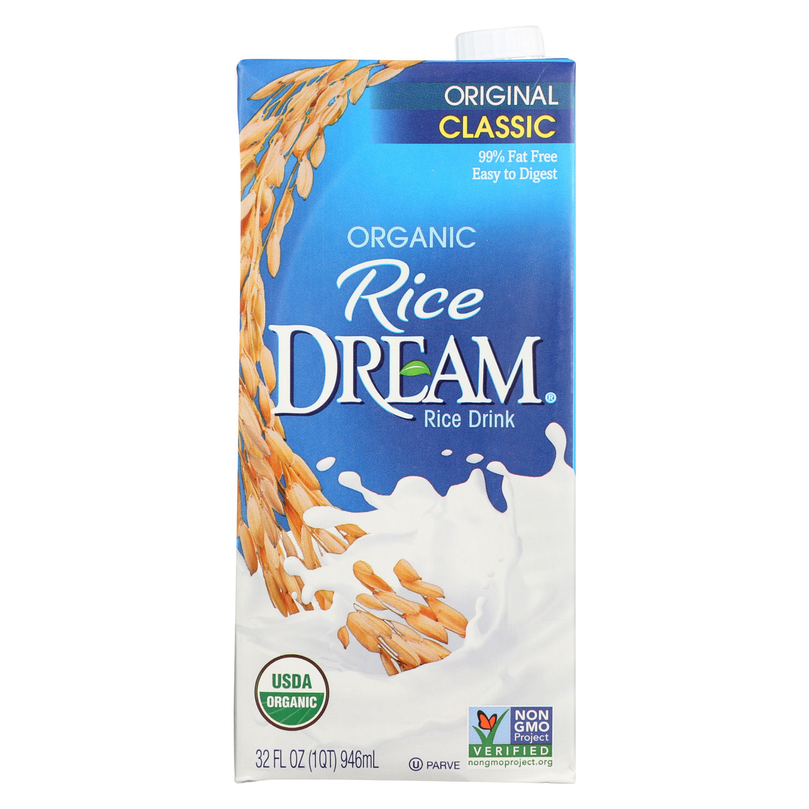 Rice Dream Organic Rice Dream - Original - 32 fl oz