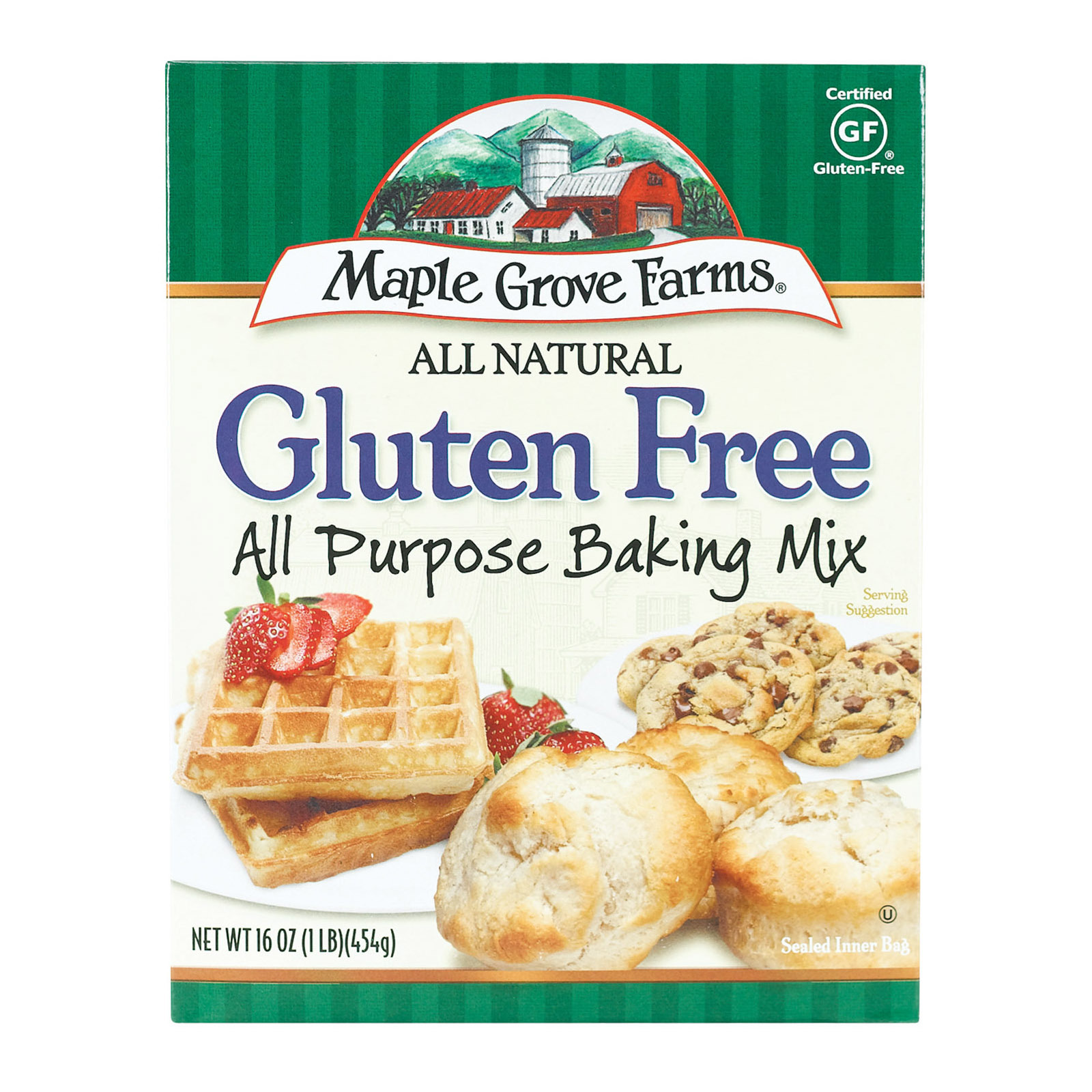 Maple Grove Farms Baking Mix - All Purpose - Gluten Free - Case of 8 - 16 oz