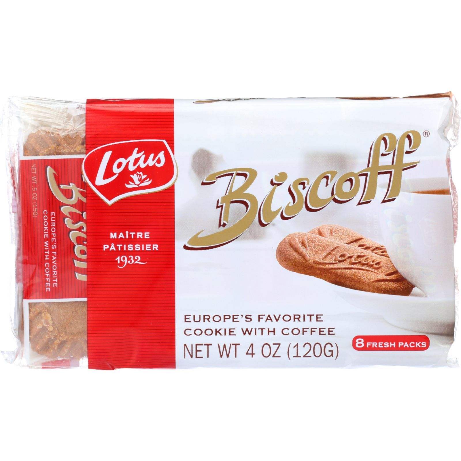 Biscoff Cookies - Snack Pack - 4 oz - case of 12