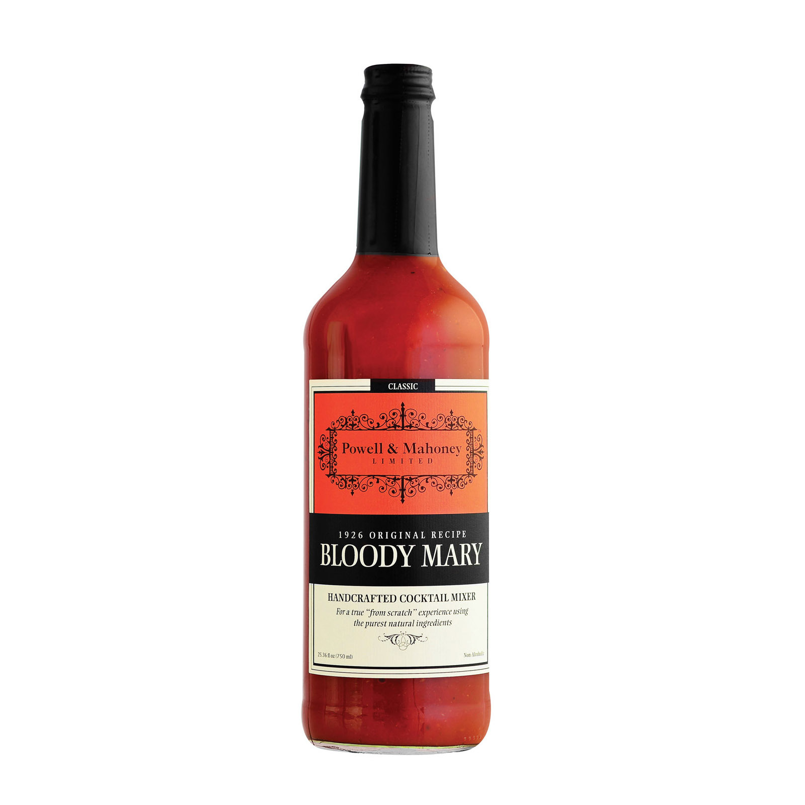 Powell & Mahoney Cocktail Mixers - Bloody Mary - Case of 6 - 25.36 oz.