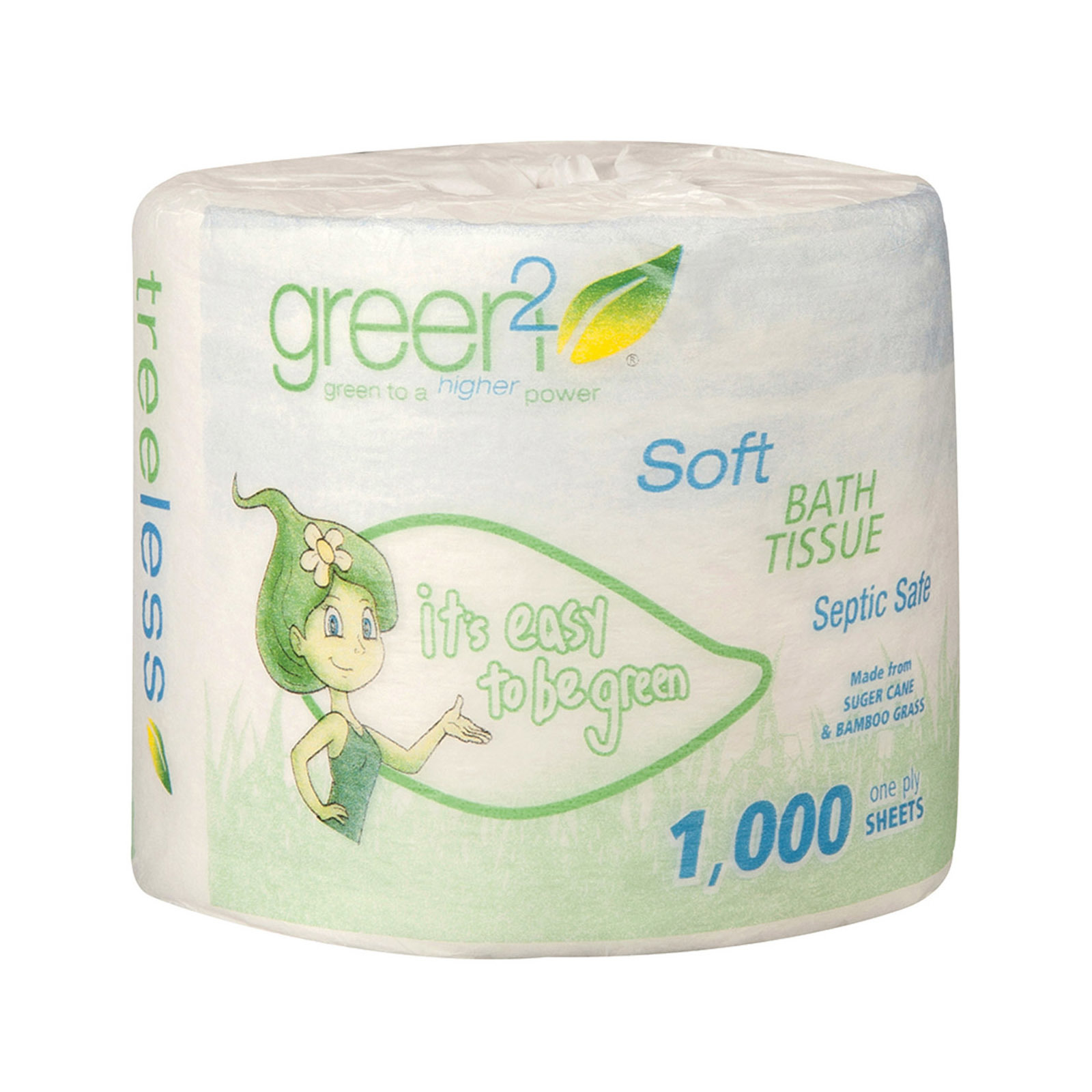 Green2 Bathroom Tissue - Case of 96