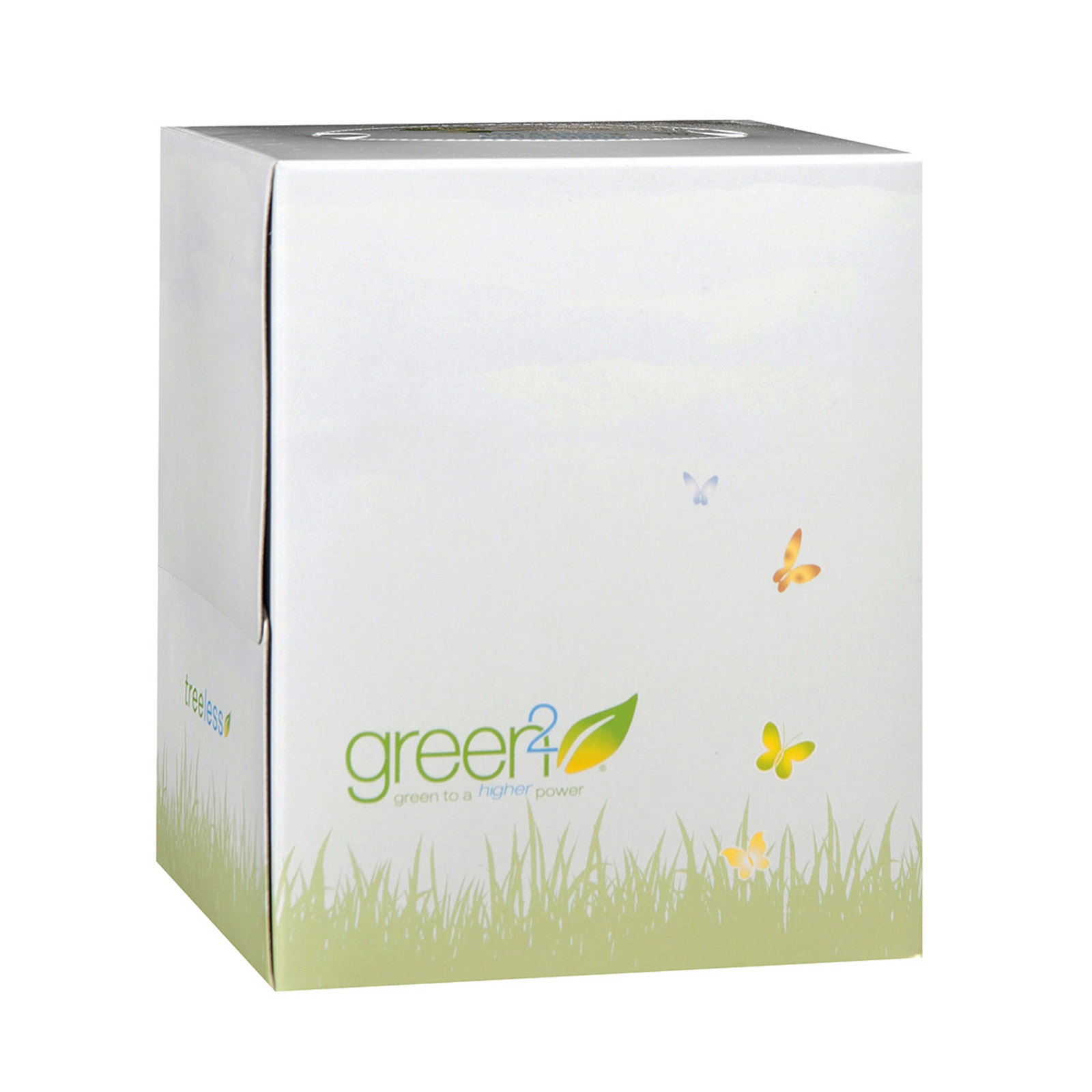 Green2 Facial Tissue - Case of 30