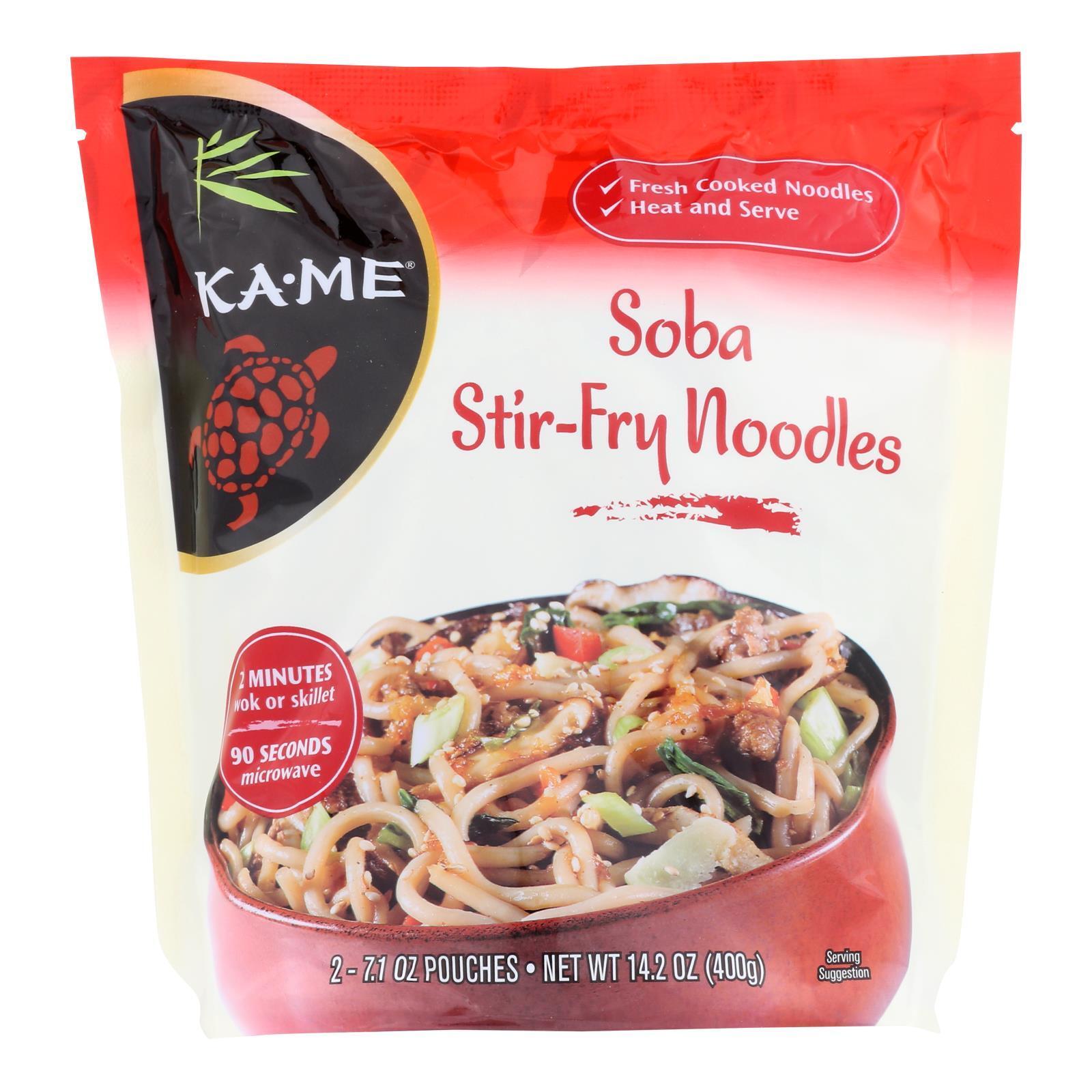 Ka'Me Soba Stir Fry Noodles - Case of 6 - 14.2 oz.