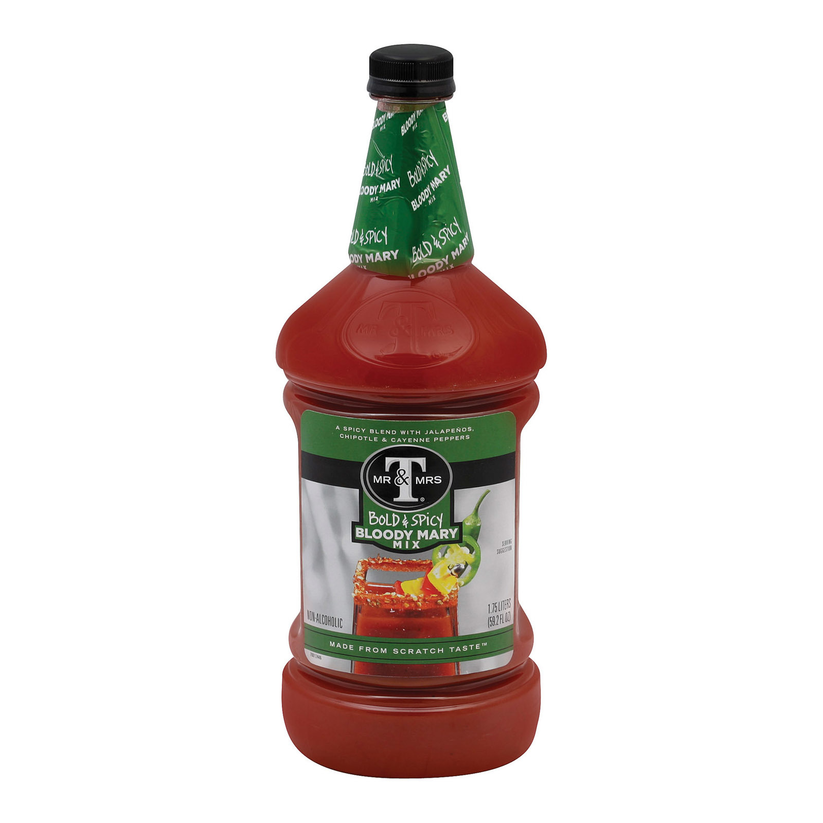 Mr. and Mrs. T Bloody Mary Mix - Case of 6 - 1.75 Liter